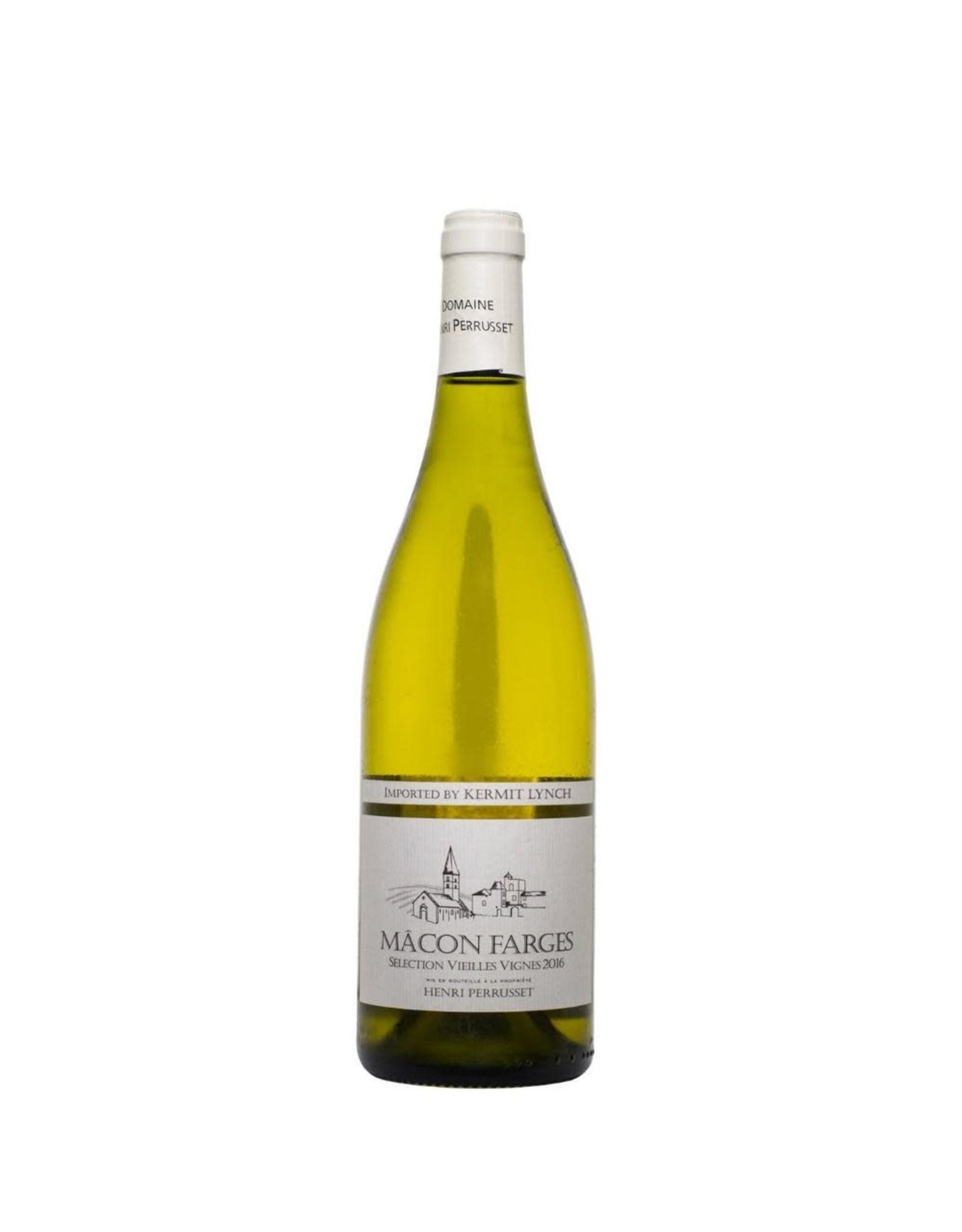 Henri Perrusset Macon Farges, Vieilles Vigne, Macon Blanc 2015