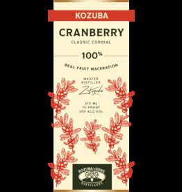 Kozuba & Sons Cranberry Liqueur