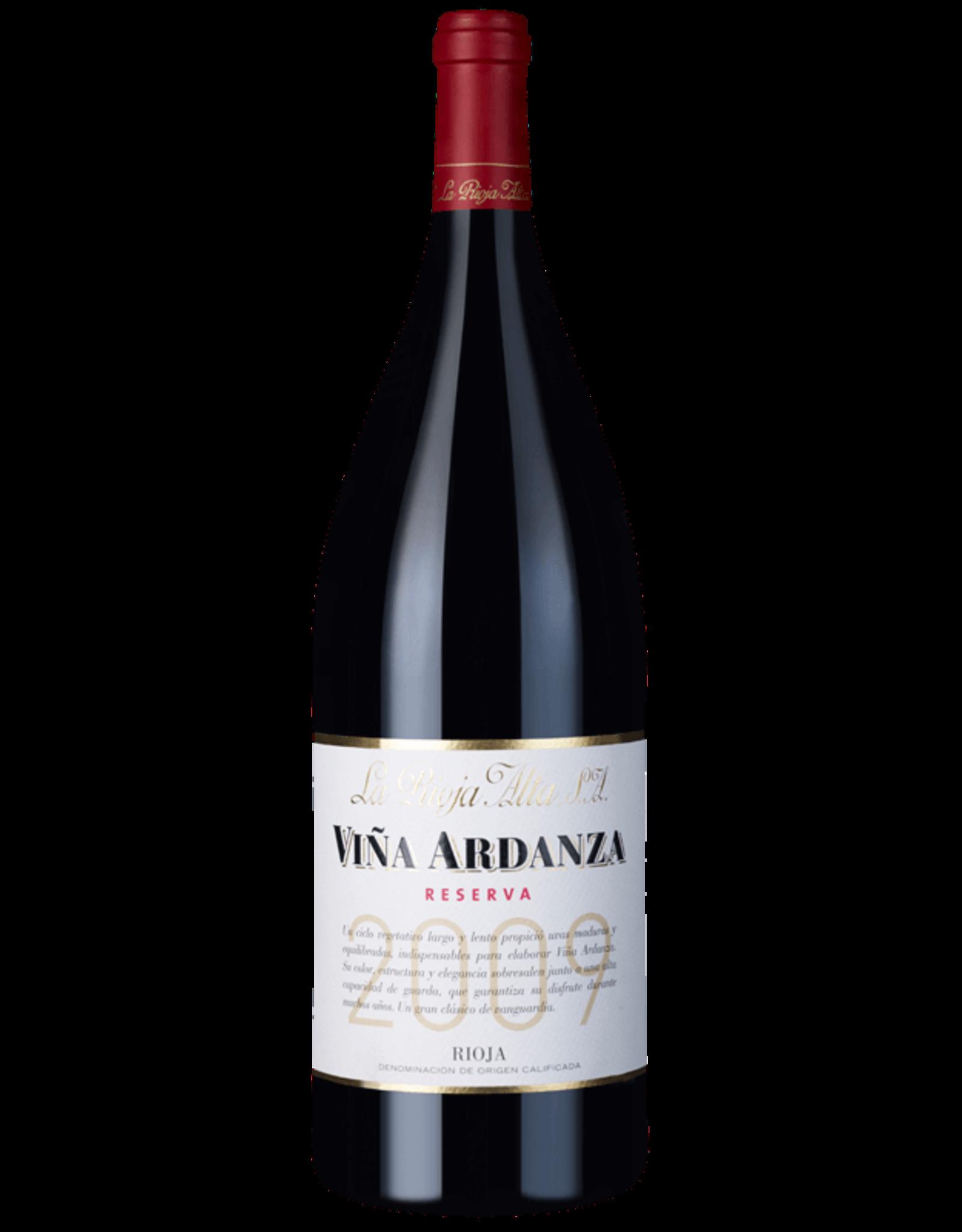 La Rioja Alta Vina Ardanza Riserva Magnum 2009