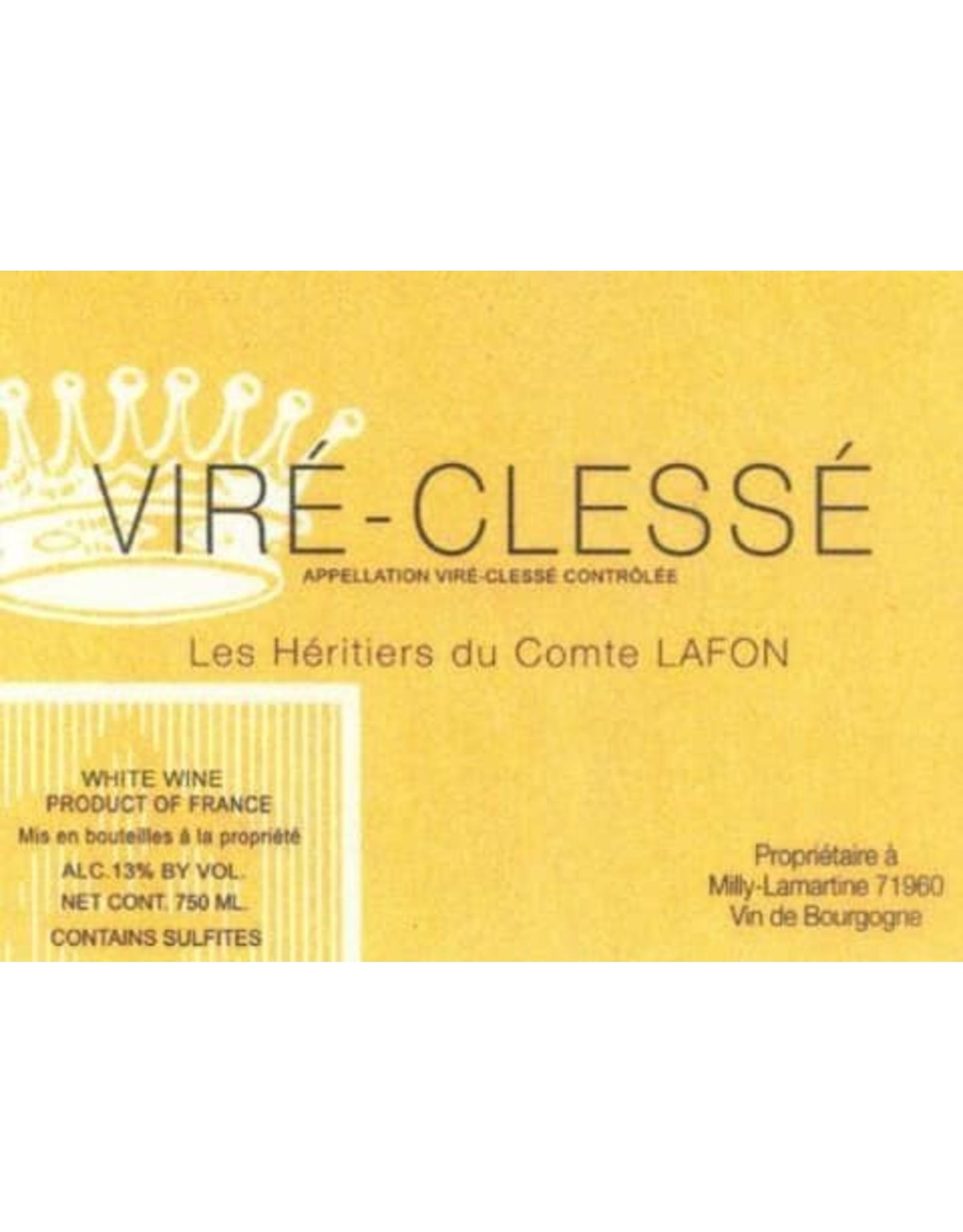 Les Heritiers du Comte de Lafon Vire Clesse Maconnais 2017