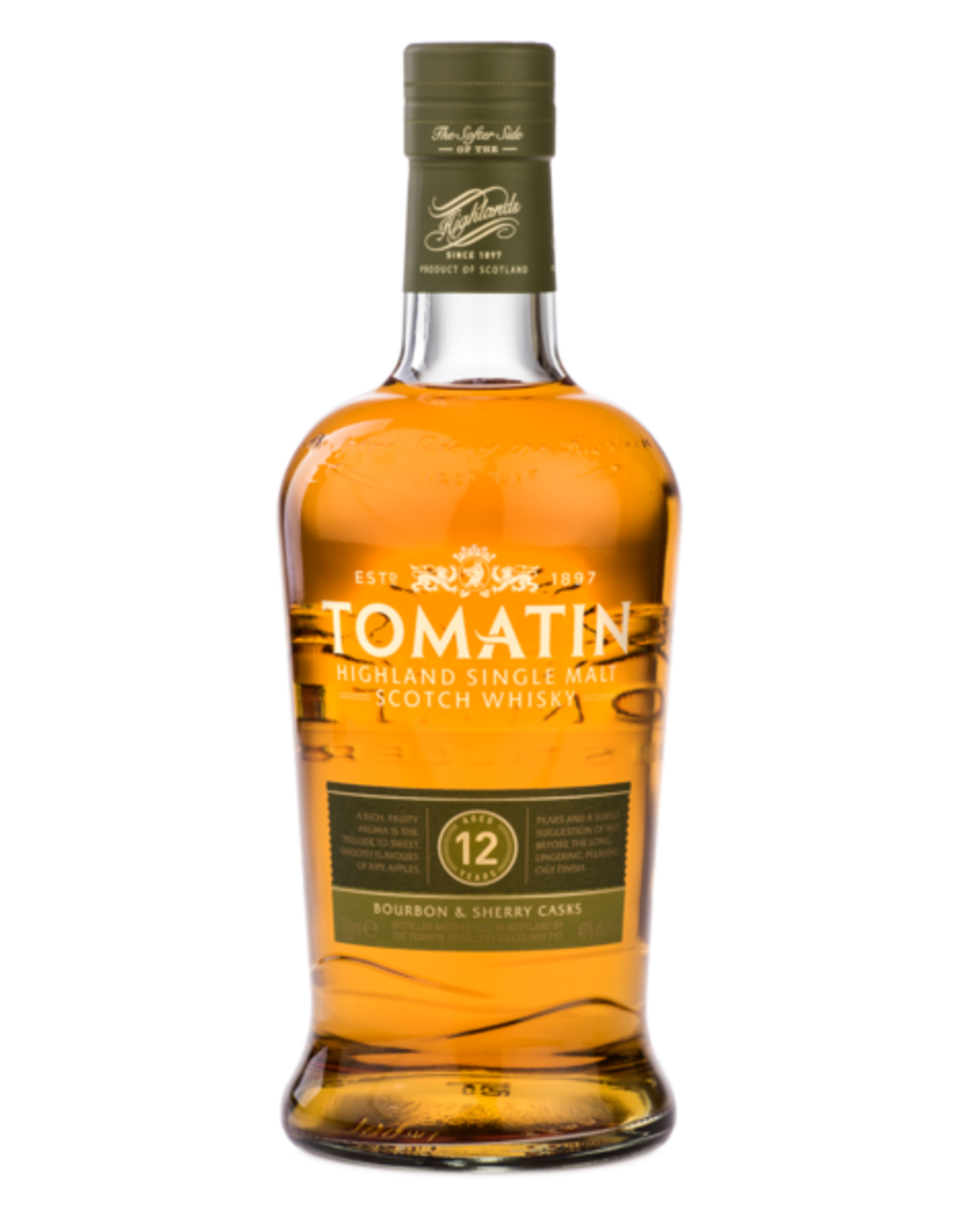 Tomatin Single Malt Scotch Whiskey 12 Year