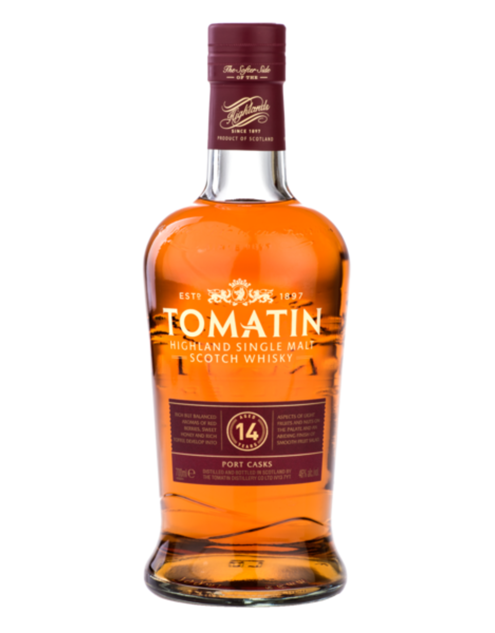 Tomatin Single Malt Scotch Whiskey 14 Year