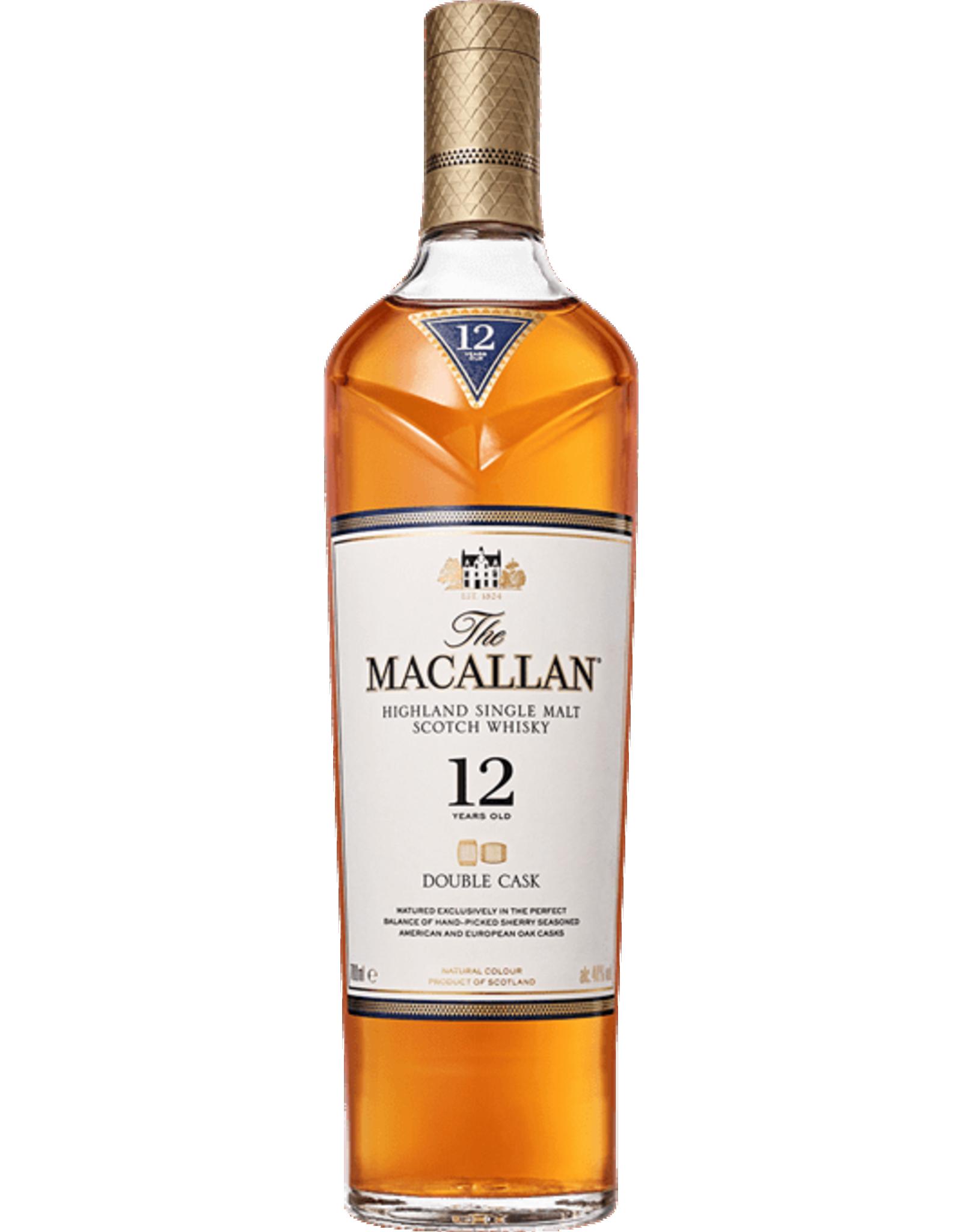 The Macallan 12 year Double Cask Scotch