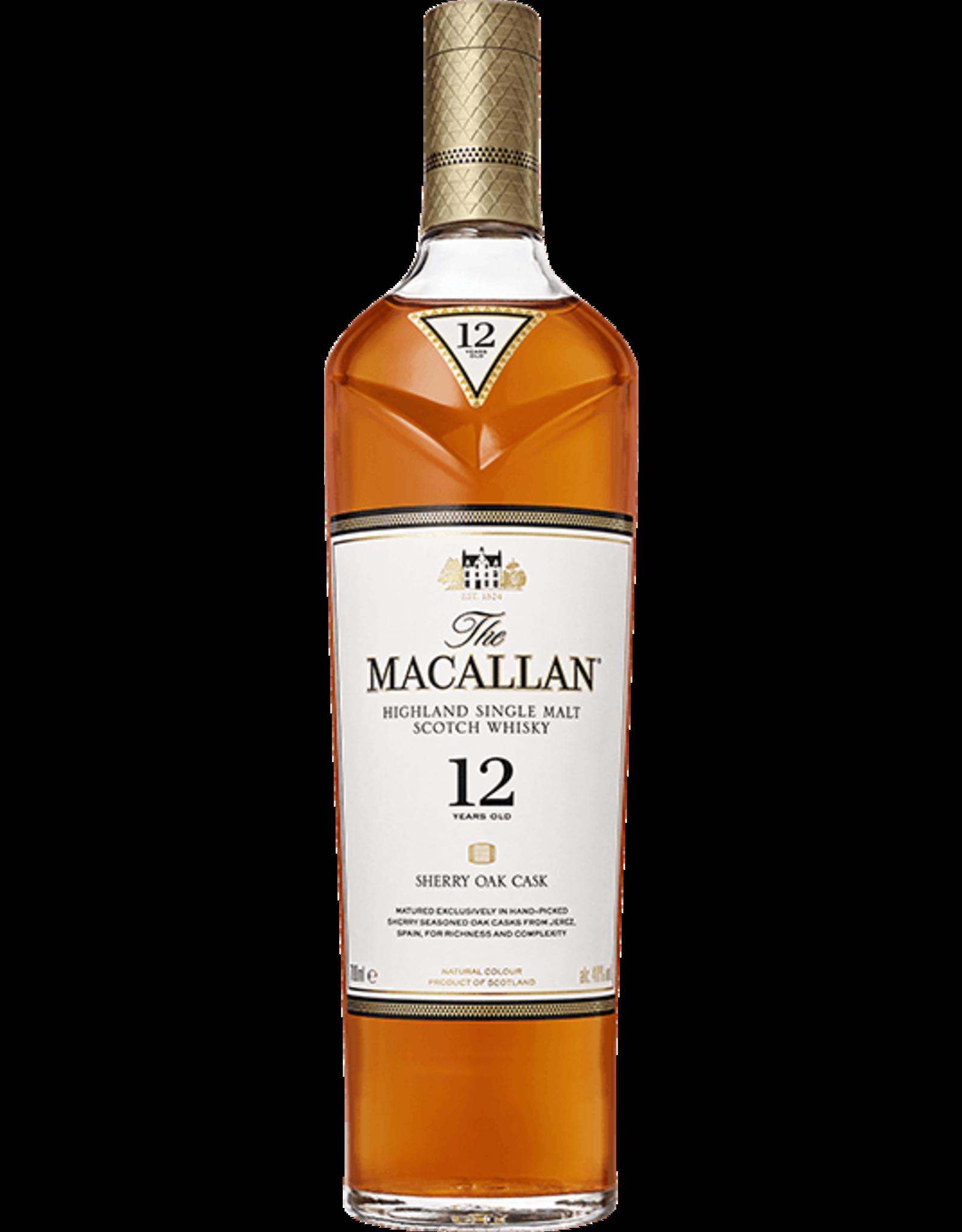 The Macallan 12 Year Sherry Cask