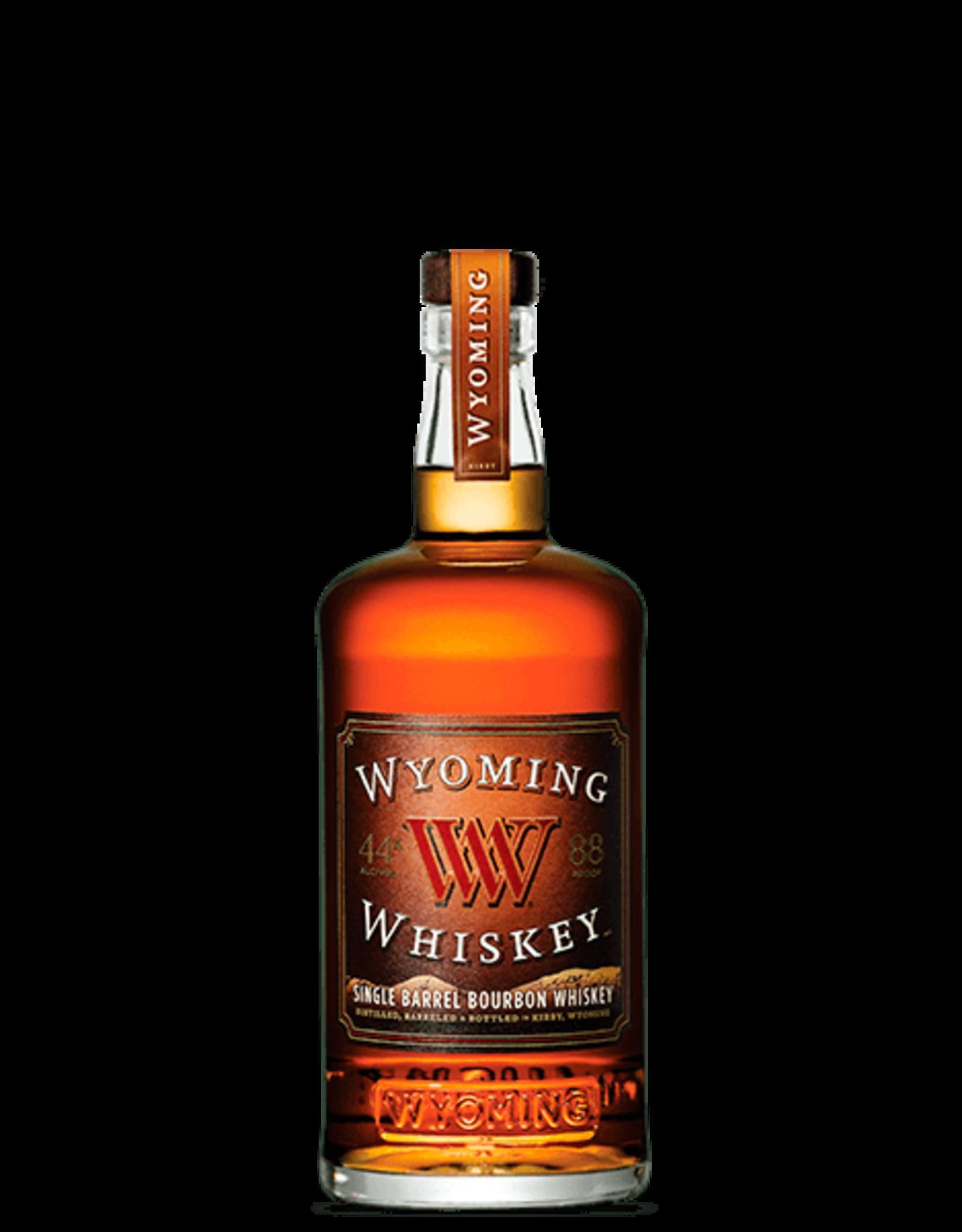 Wyoming Single Barrel Bourbon Whiskey