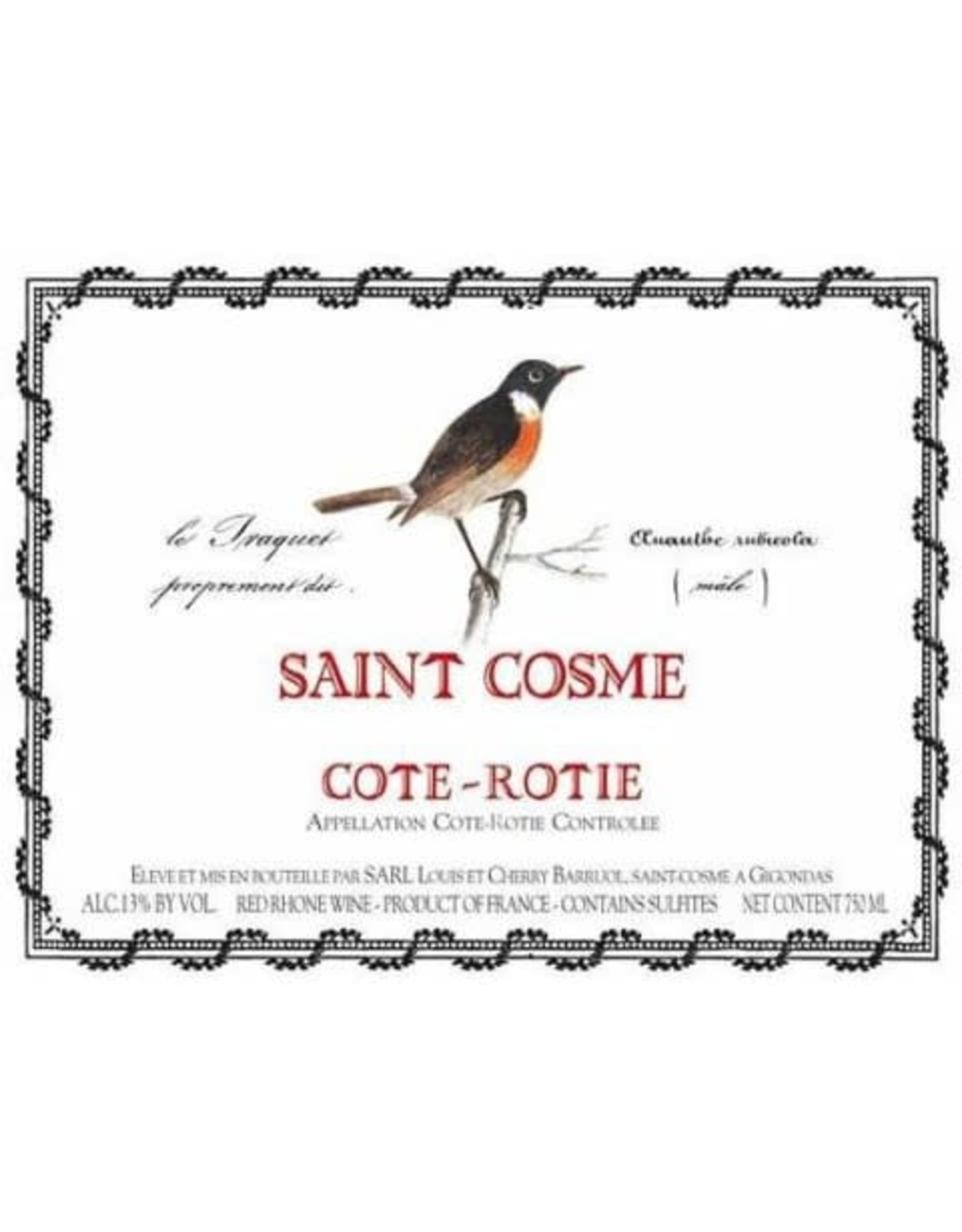 Saint Cosme Cote Rotie 2016