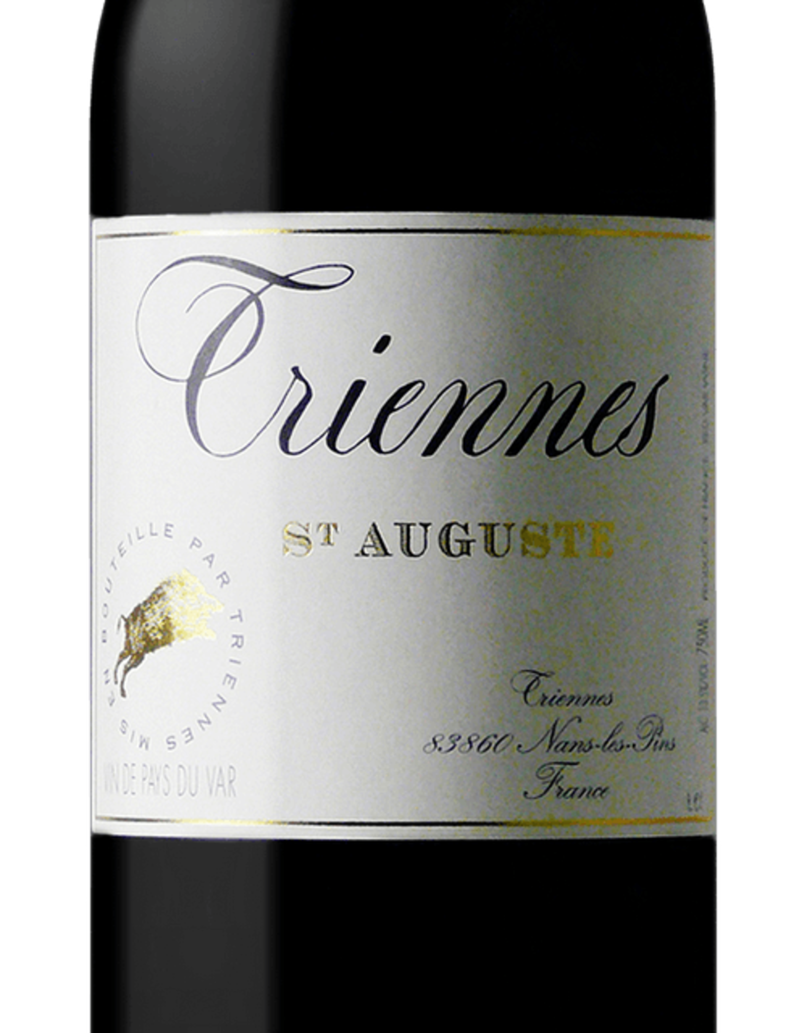 Triennes St Auguste Rouge 2015