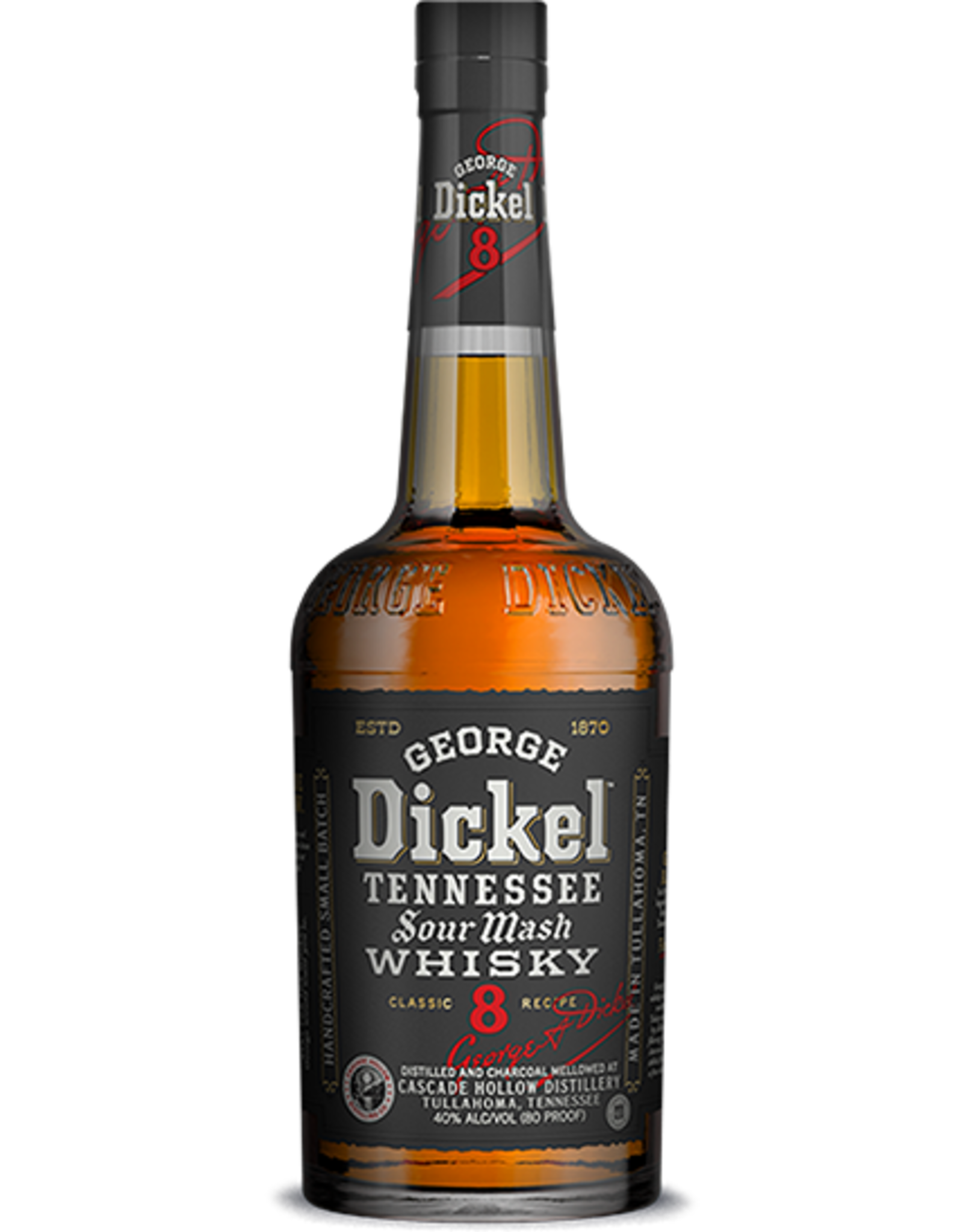 George Dickel No. 8 Tennessee Whiskey