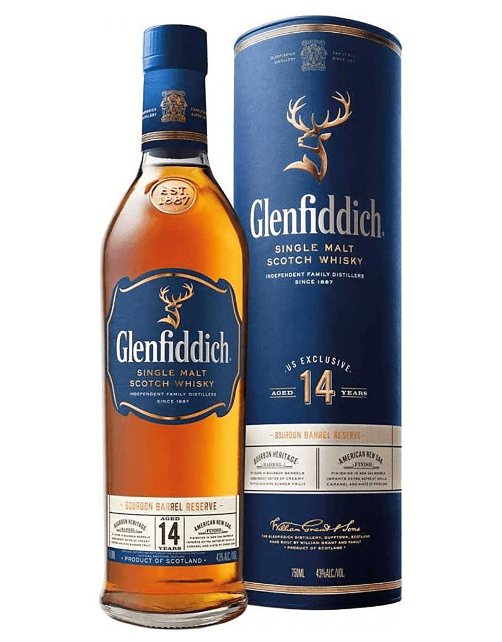 Glenfiddich 14Yr Bourbon Barrel