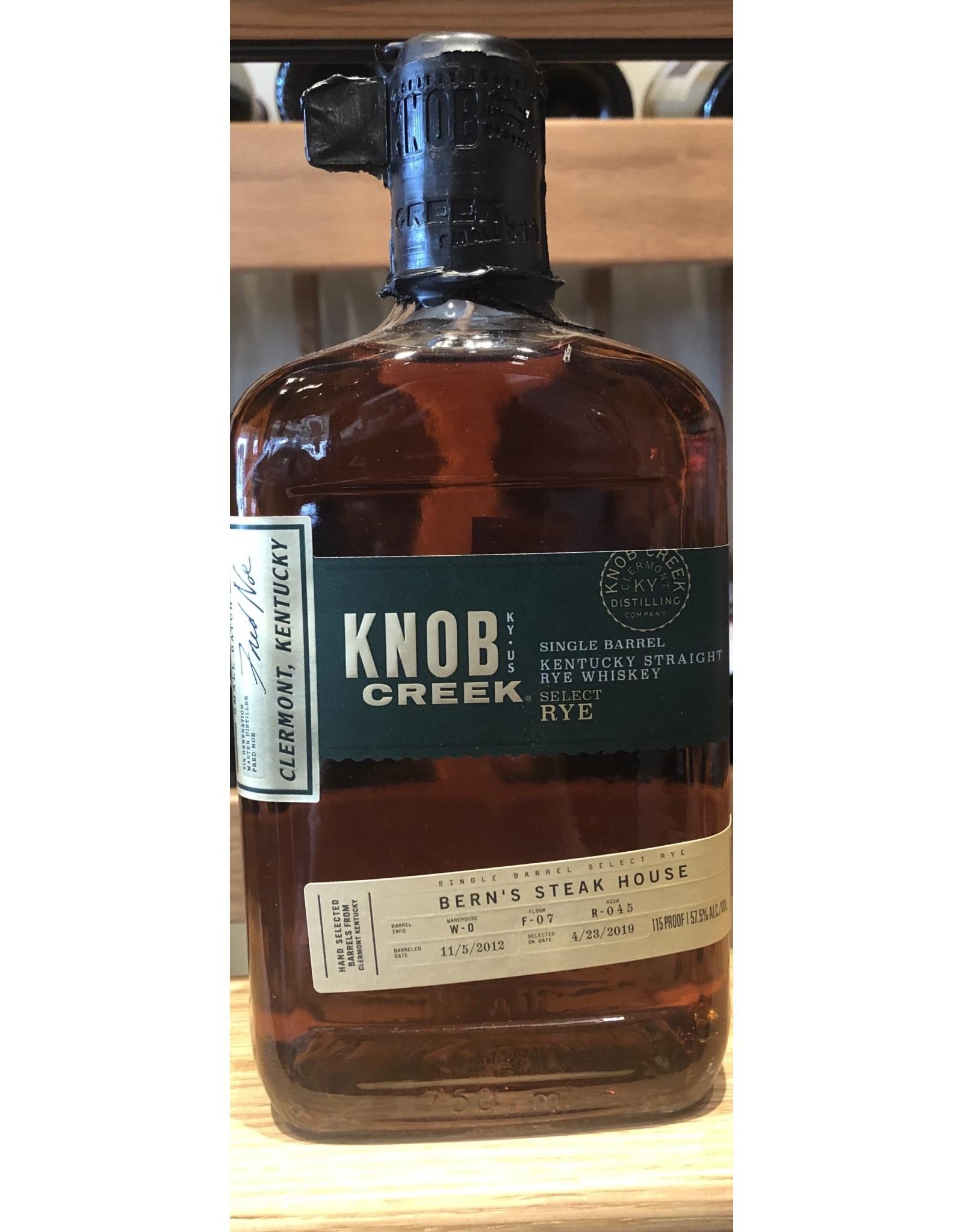 Bern's Select Knob Creek Rye