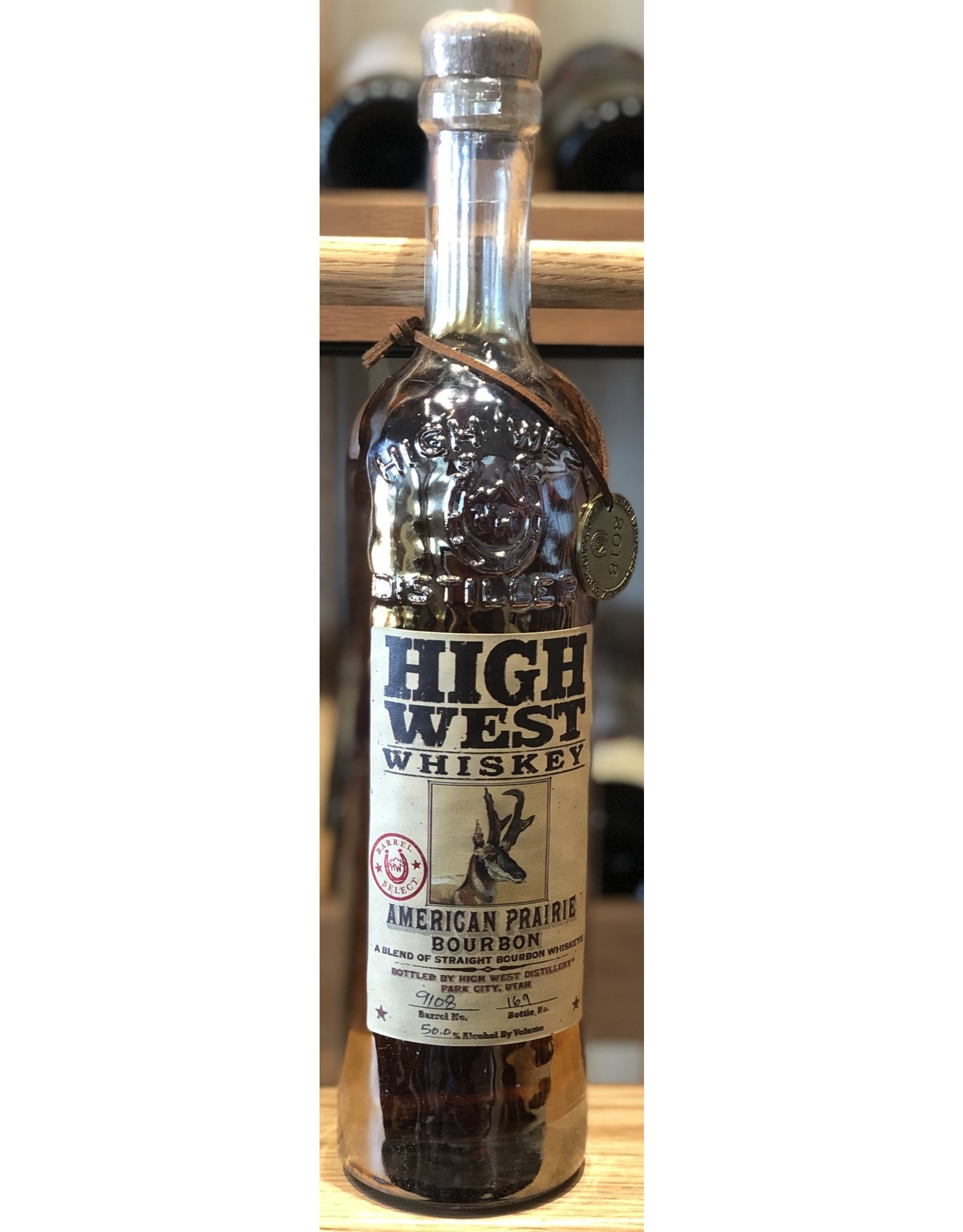 Bern's Select, High West American Prairie, Chard Finish '18