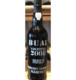 Bern's Barrel Select Cossart Gordon Colheita Bual 2008