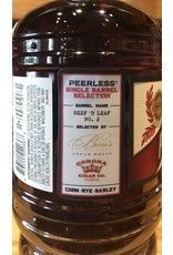 Peerless Single Barrel Select Bourbon Beef & Leaf #2, Collaboration, Bern's Steak House & Corona Cigar Co. 2020