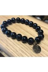 Bern's Evangeline Black Pearl Bracelet