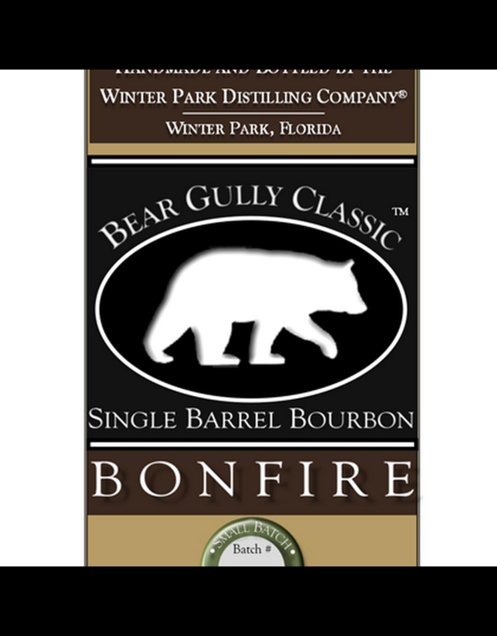 Bear Gully Bonfire