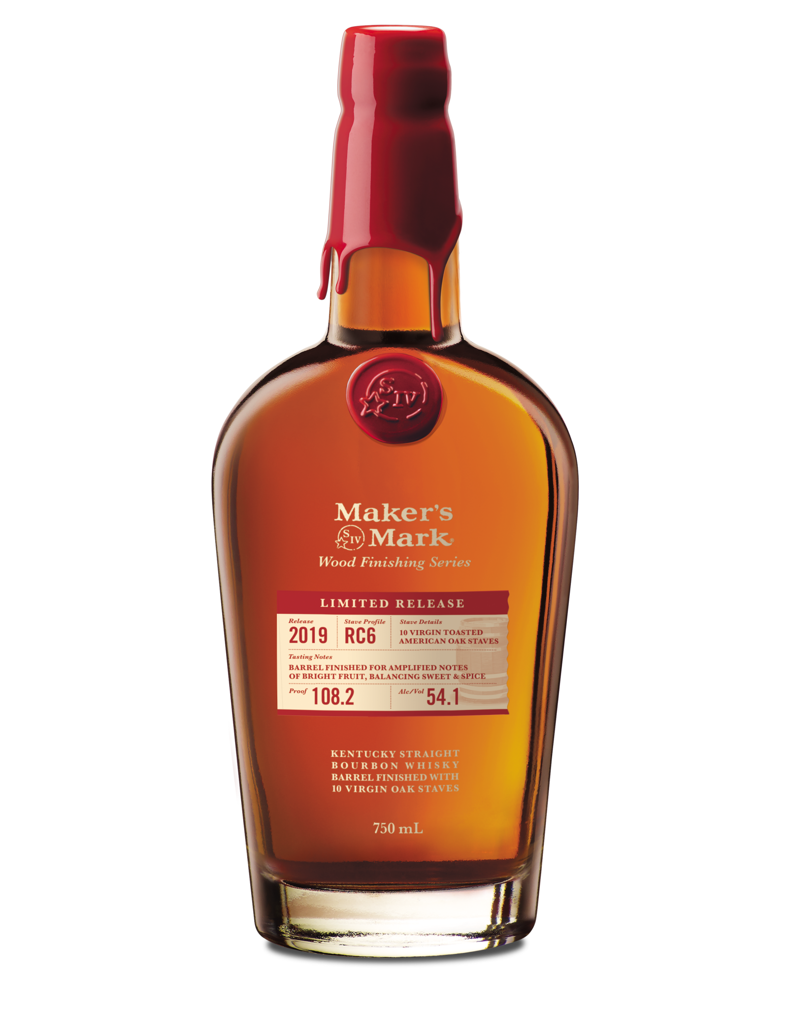 Maker's Mark Wood Finish