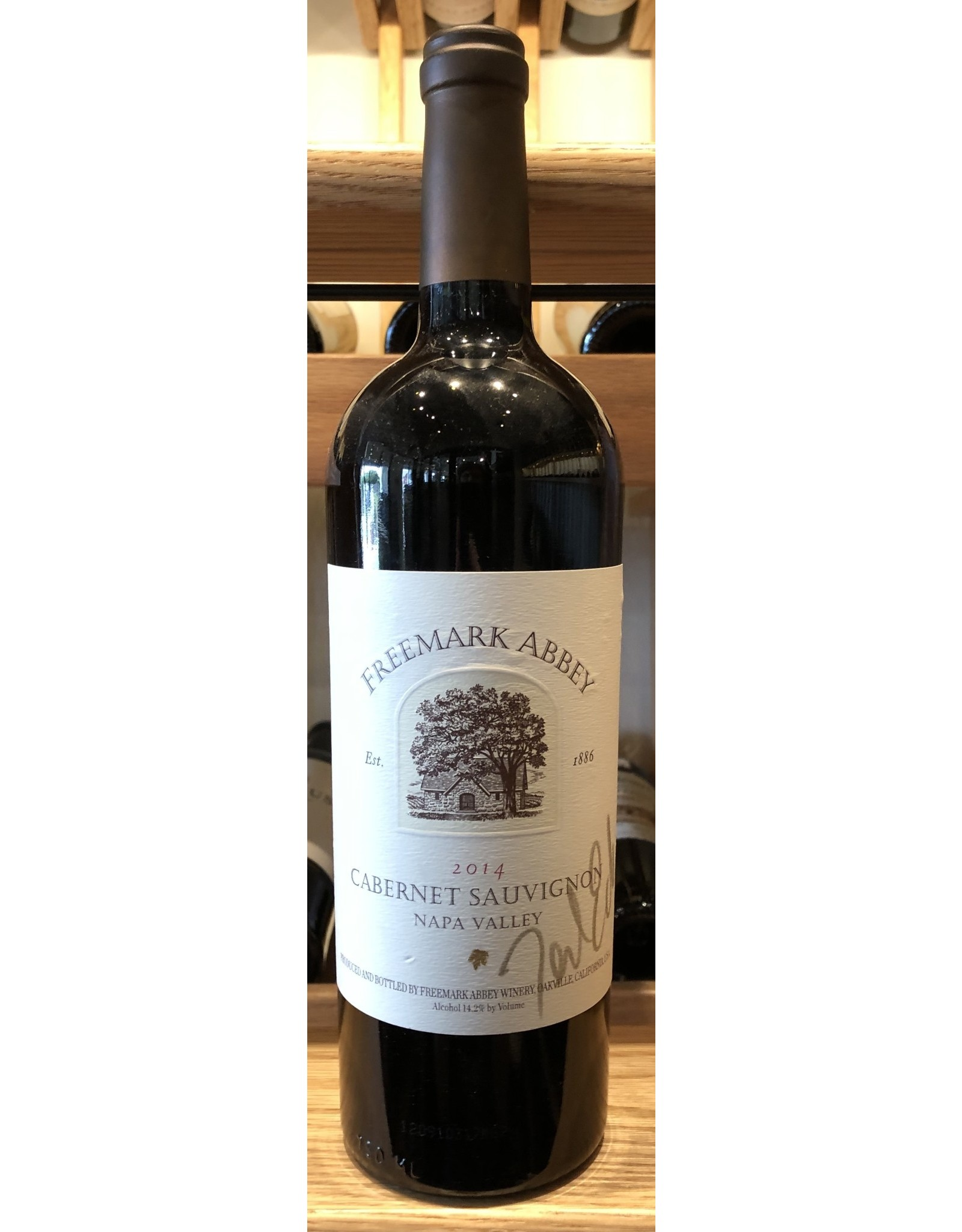 Freemark Abbey Napa Valley Cabernet 2014 SIGNED