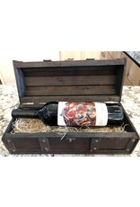Wood Chest Gift Box 1-Bottle