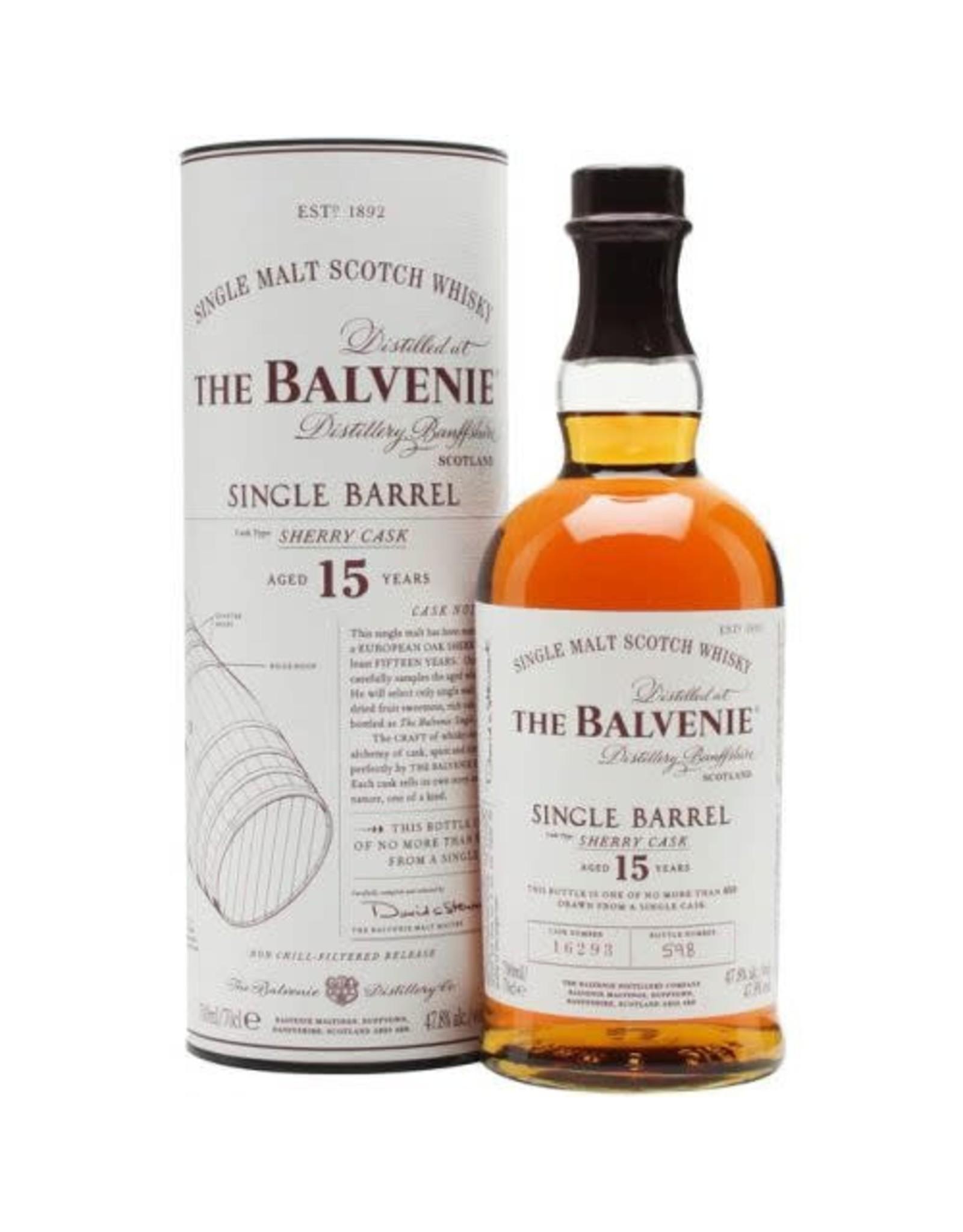 Balvenie Single Barrel 15 Sherry cask