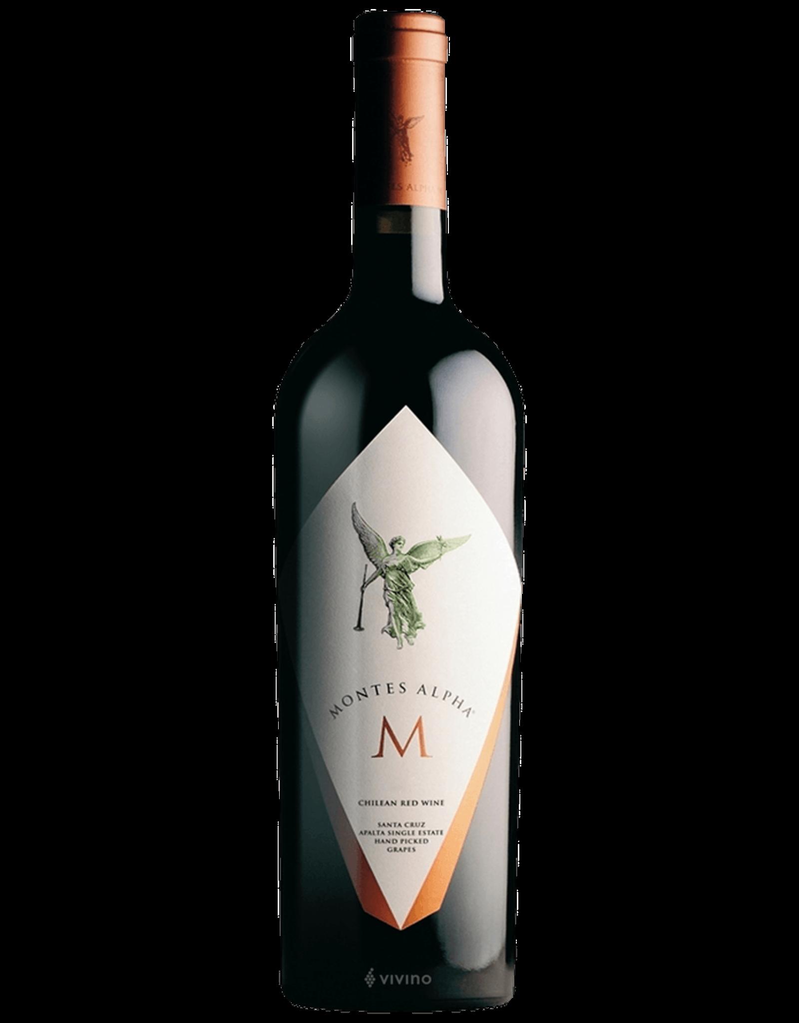 Montes Alpha 'M' Chilean Red Wine 2012