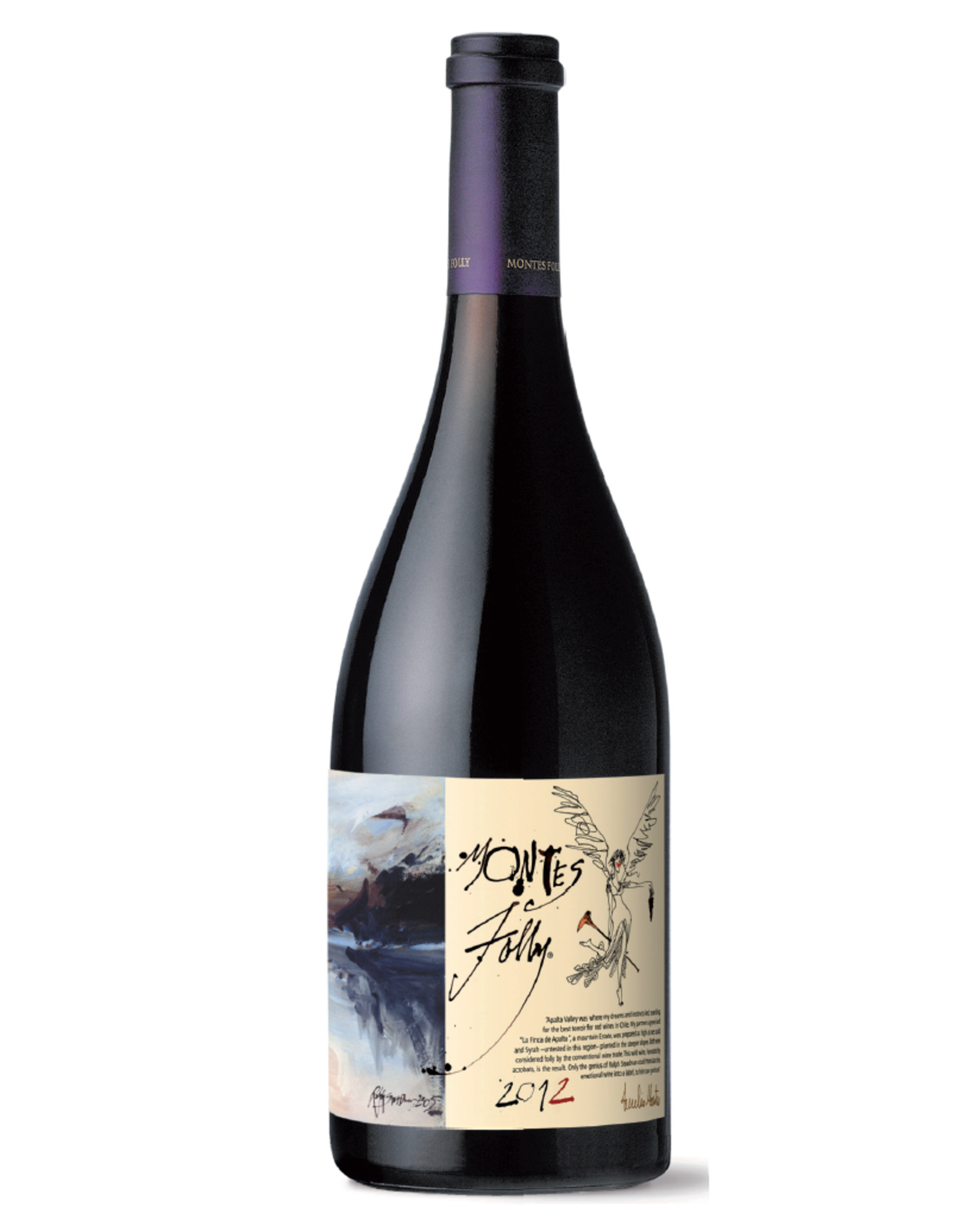 Montes Folly Syrah 2012