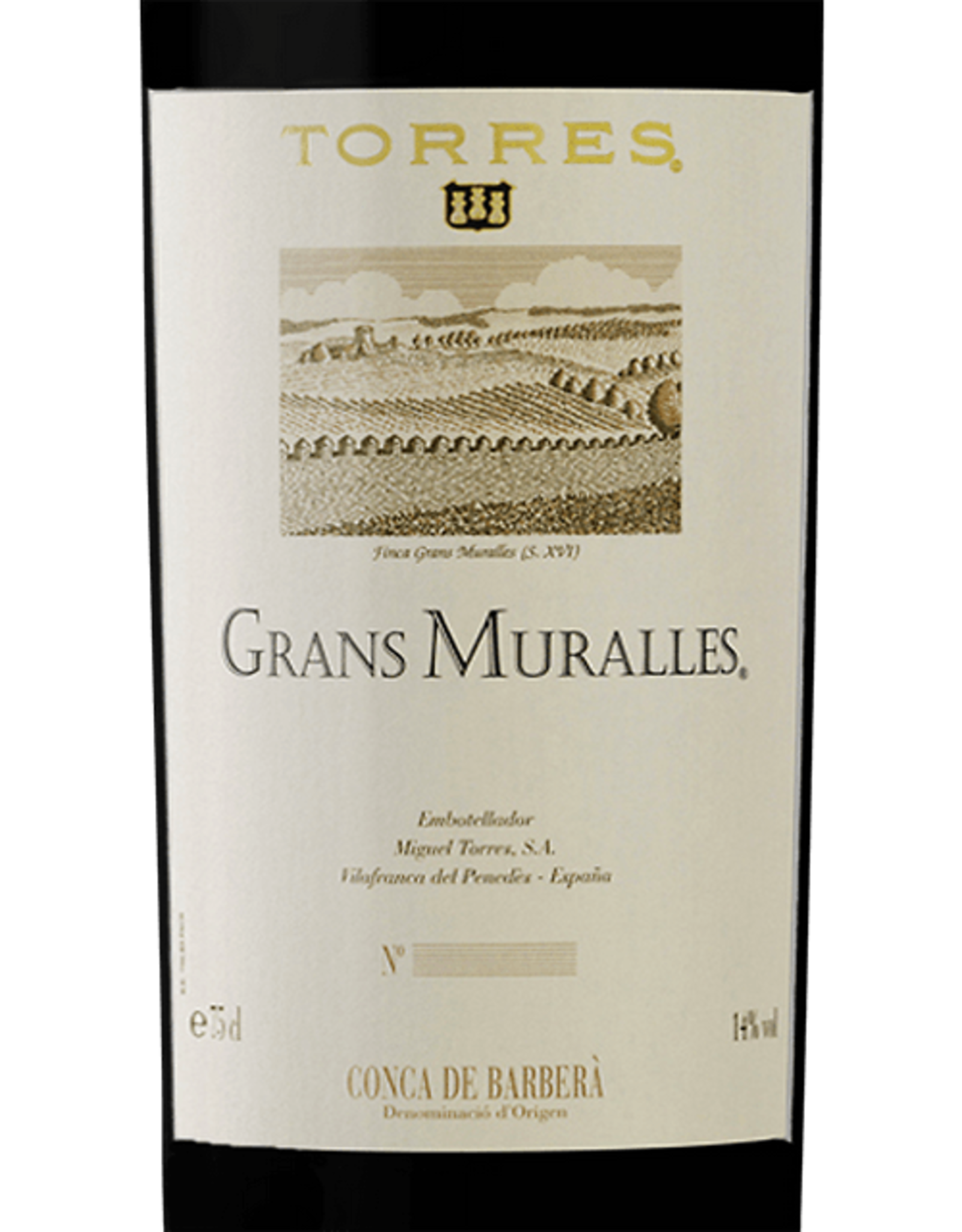 Torres Grans Murralles Red Wine 2010