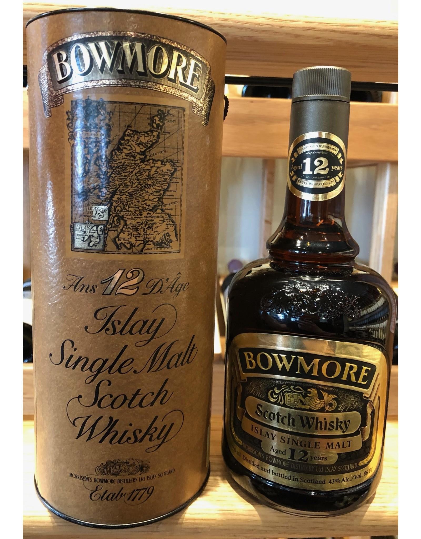 Bowmore 12 Islay Single Malt (~late 80s bottling)