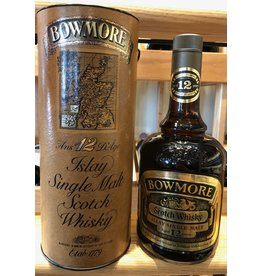 Bowmore 12 Islay Single Malt (~late 80s bottling)