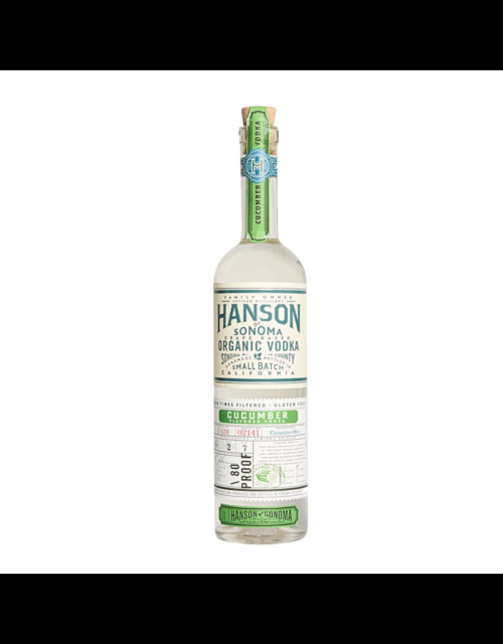 Hanson Cucumber Vodka