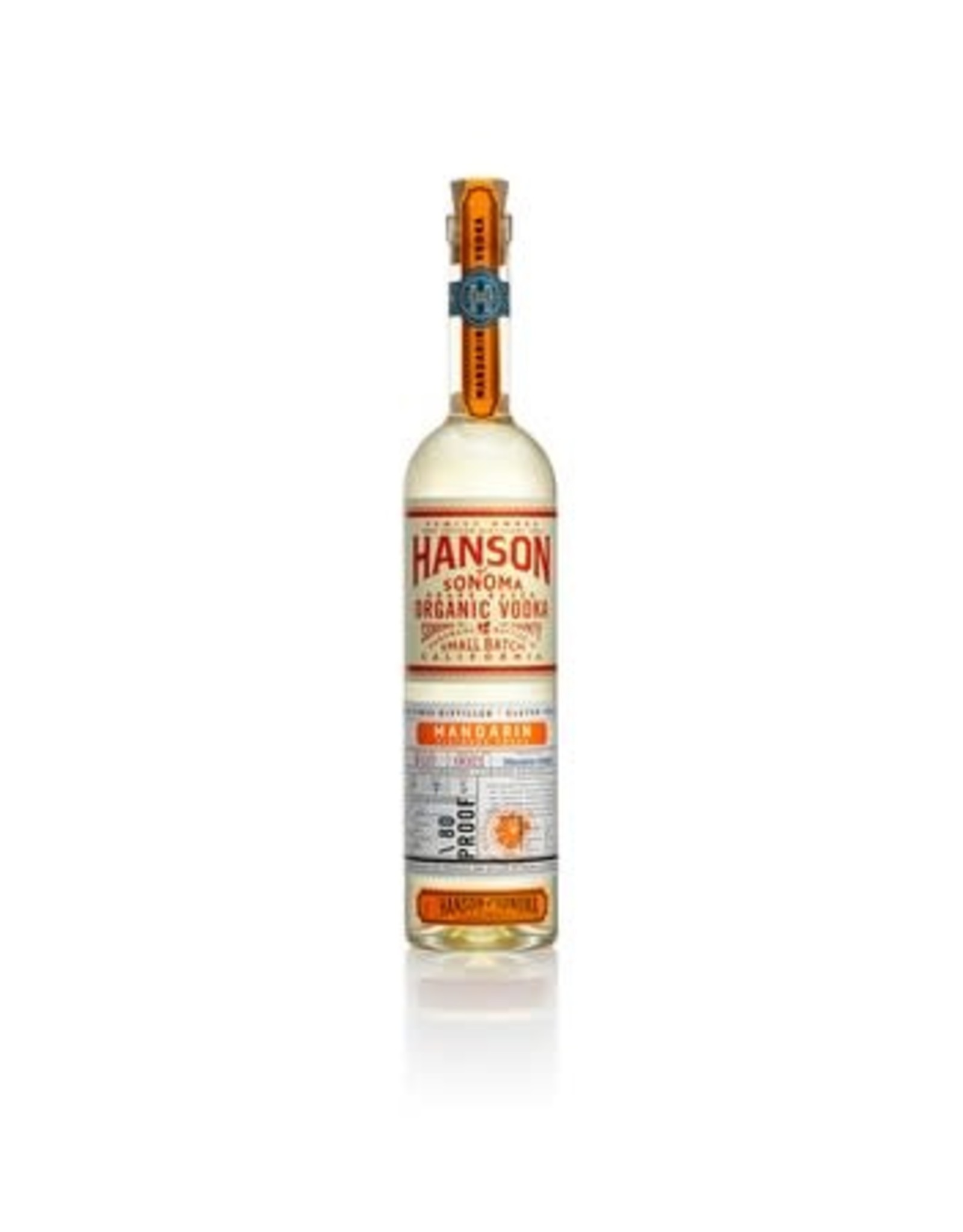 Hanson Mandarin Orange Vodka