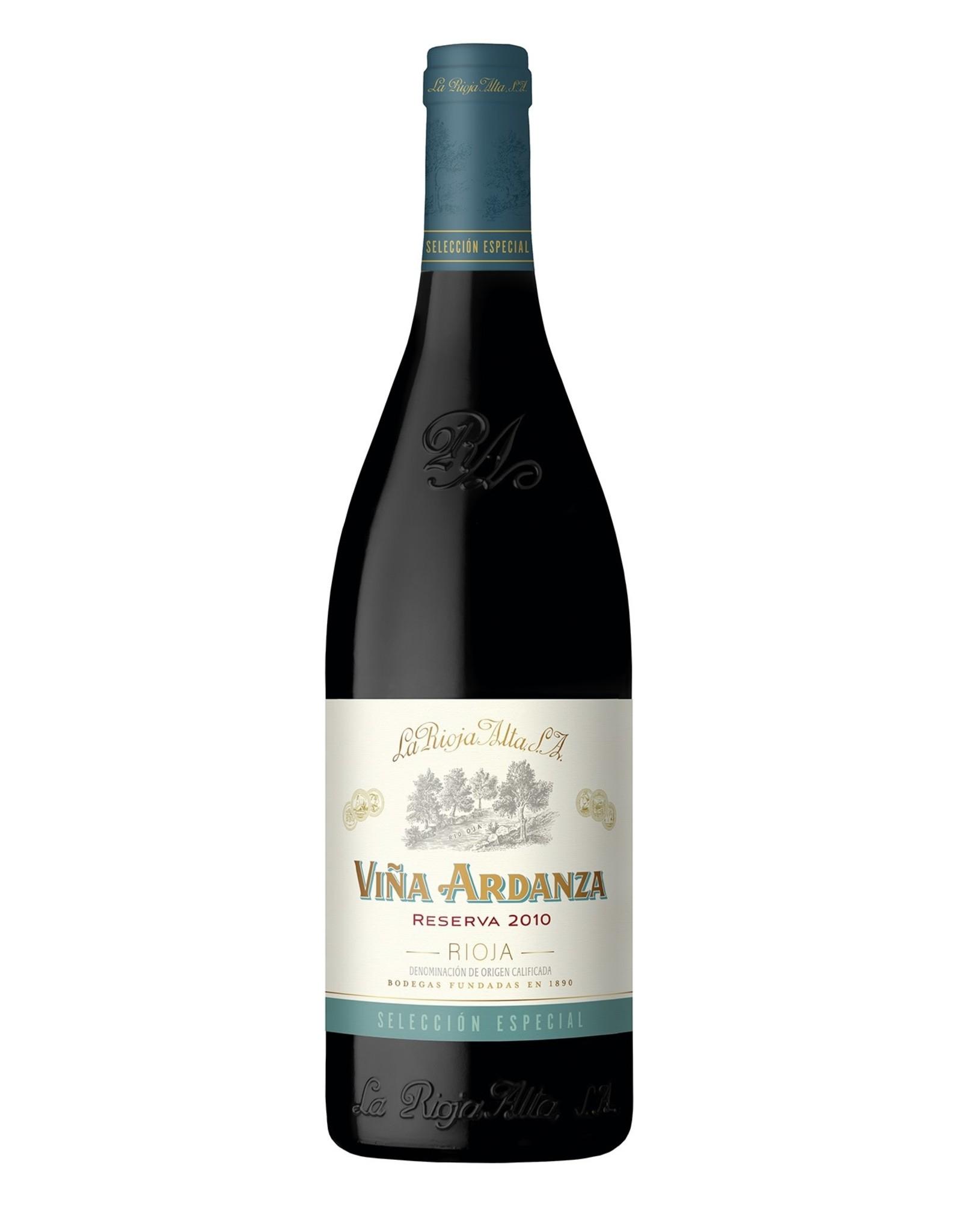 La Rioja Alta Vina Ardanza Reserva Rioja 2012