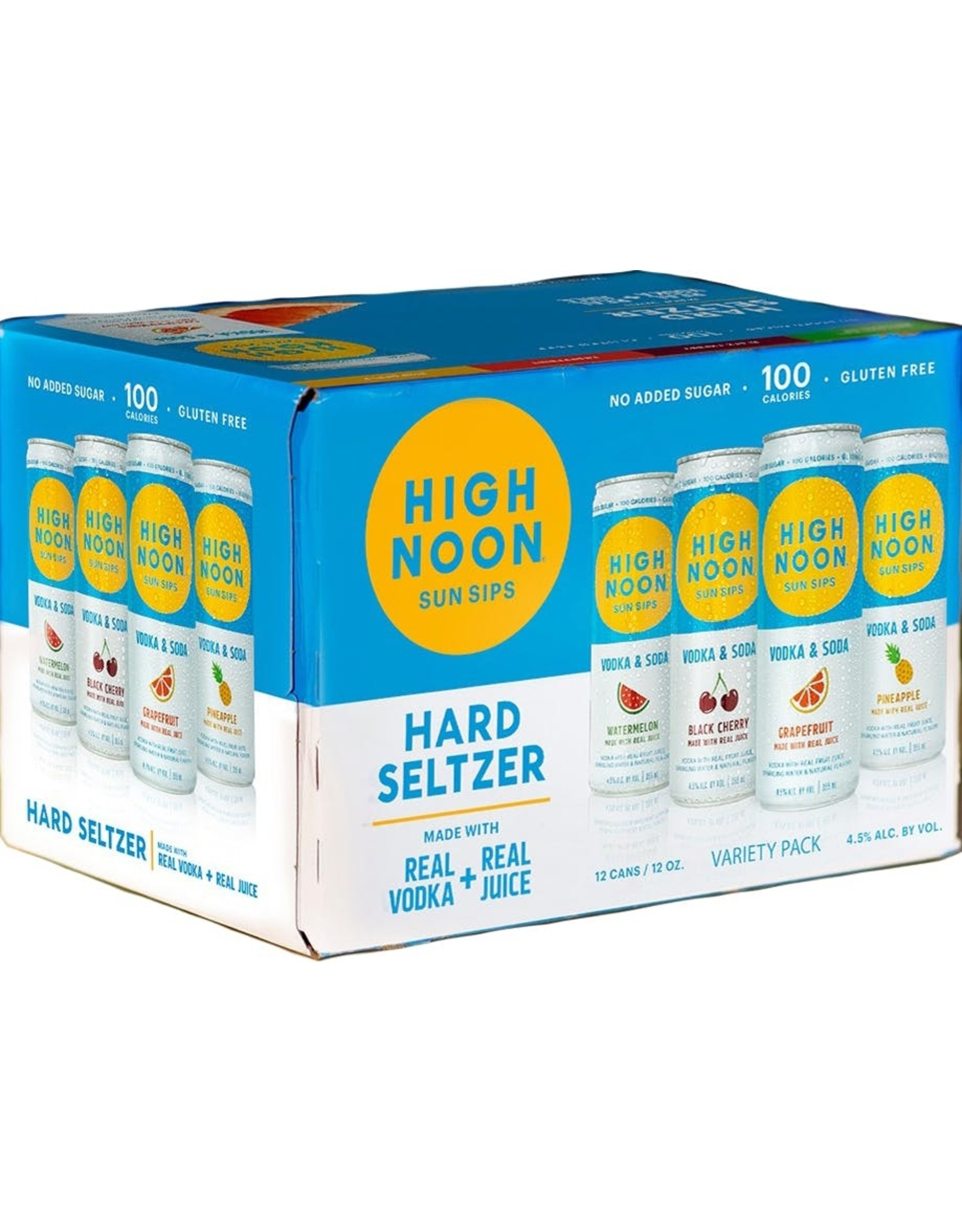 High Noon Variety 8 pack