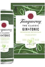 Tanqueray Gin & Tonic 4 pack