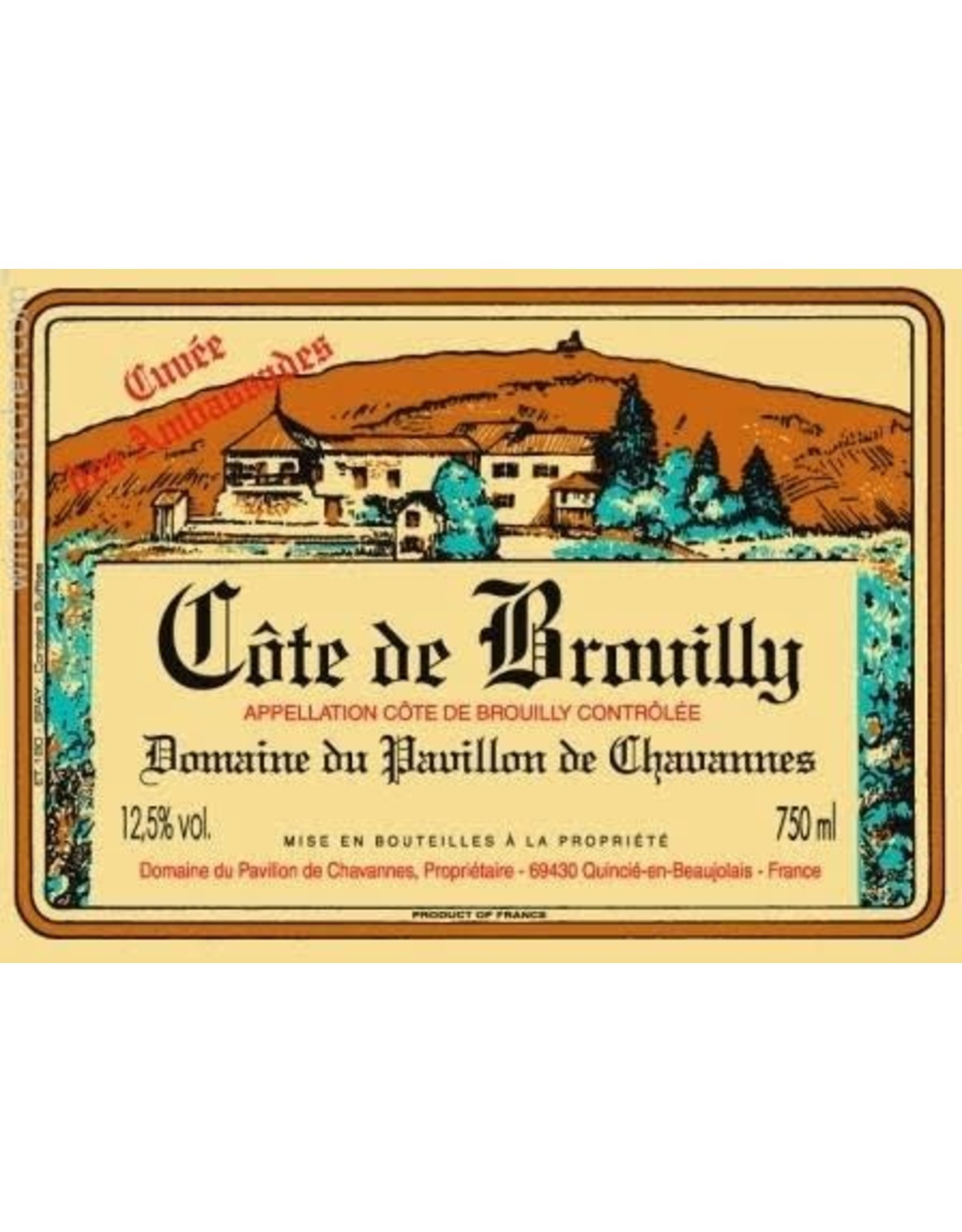 Domaine de Pavillon de Chavannes Cote de Brouilly Cuvee des Ambassades 2019