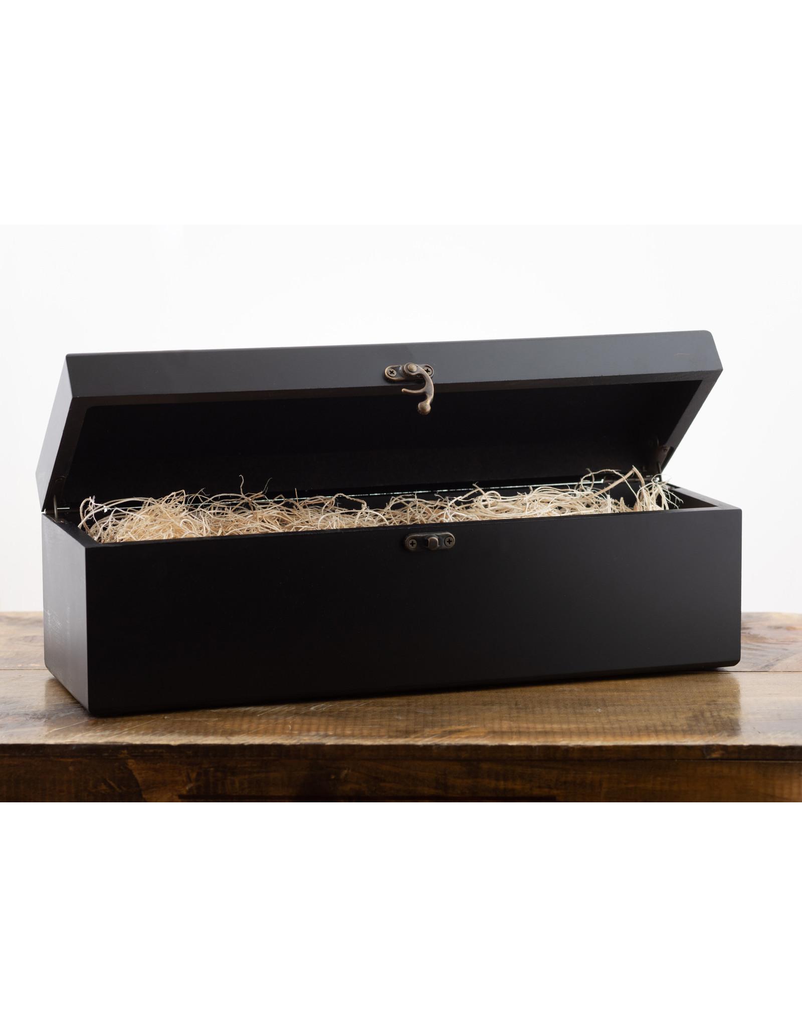 Wood Gift Box, 1-Bottle Bern's Black Box