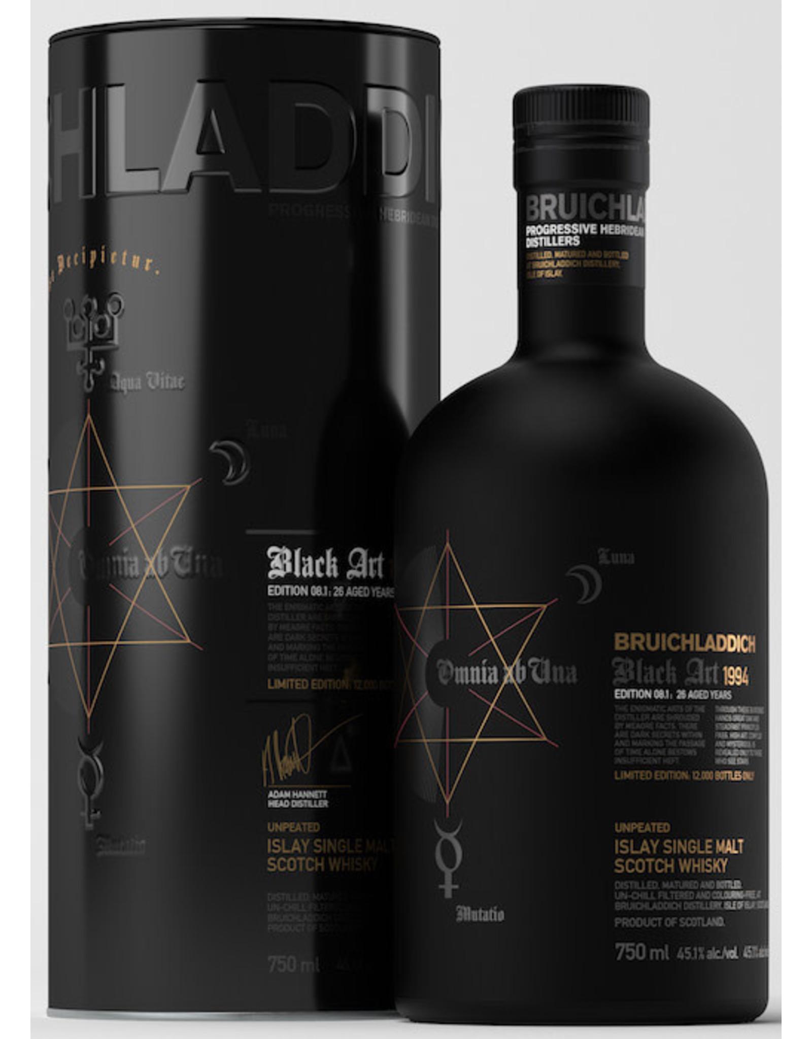 Bruichladdich Black Art 1994 Edition 08.1