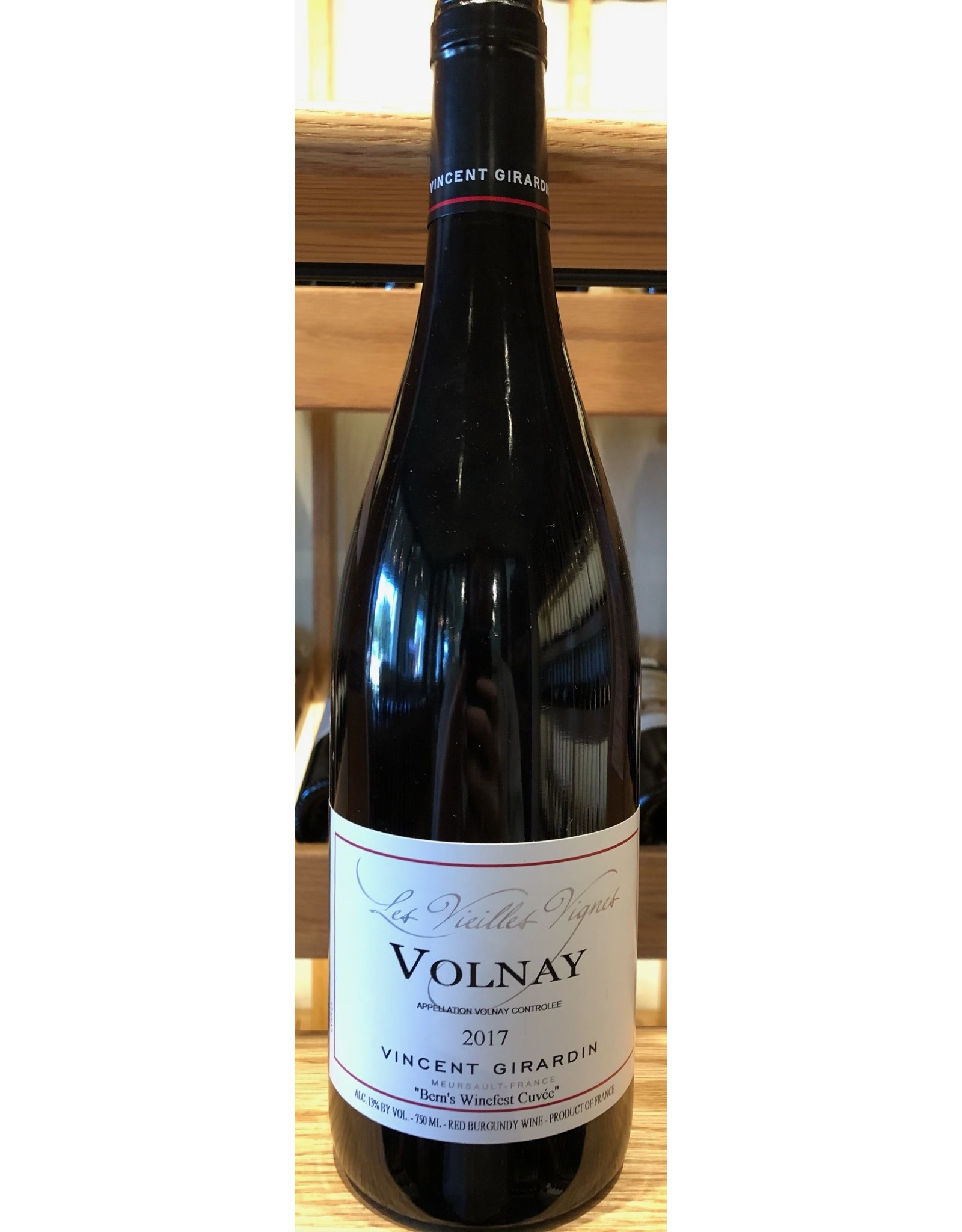 Bern's Select Vincent Girardin Volnay Rouge 2017