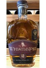 "WhistlePig 12 Bespoke Barrel Rye ""The Whiskey Tribunal 2020"" Chateau de Pineau Cask"