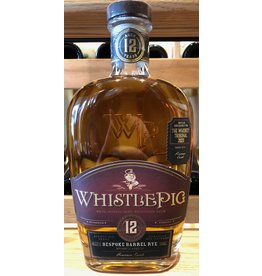 Tampa Bay Whiskey Tribunal WhistlePig 12 Bespoke Barrel Rye Chateau de Pineau Cask
