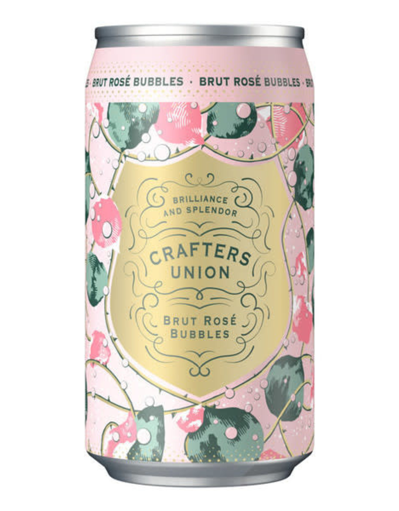 Crafters Union Brut Rose Bubbles 375 ml can