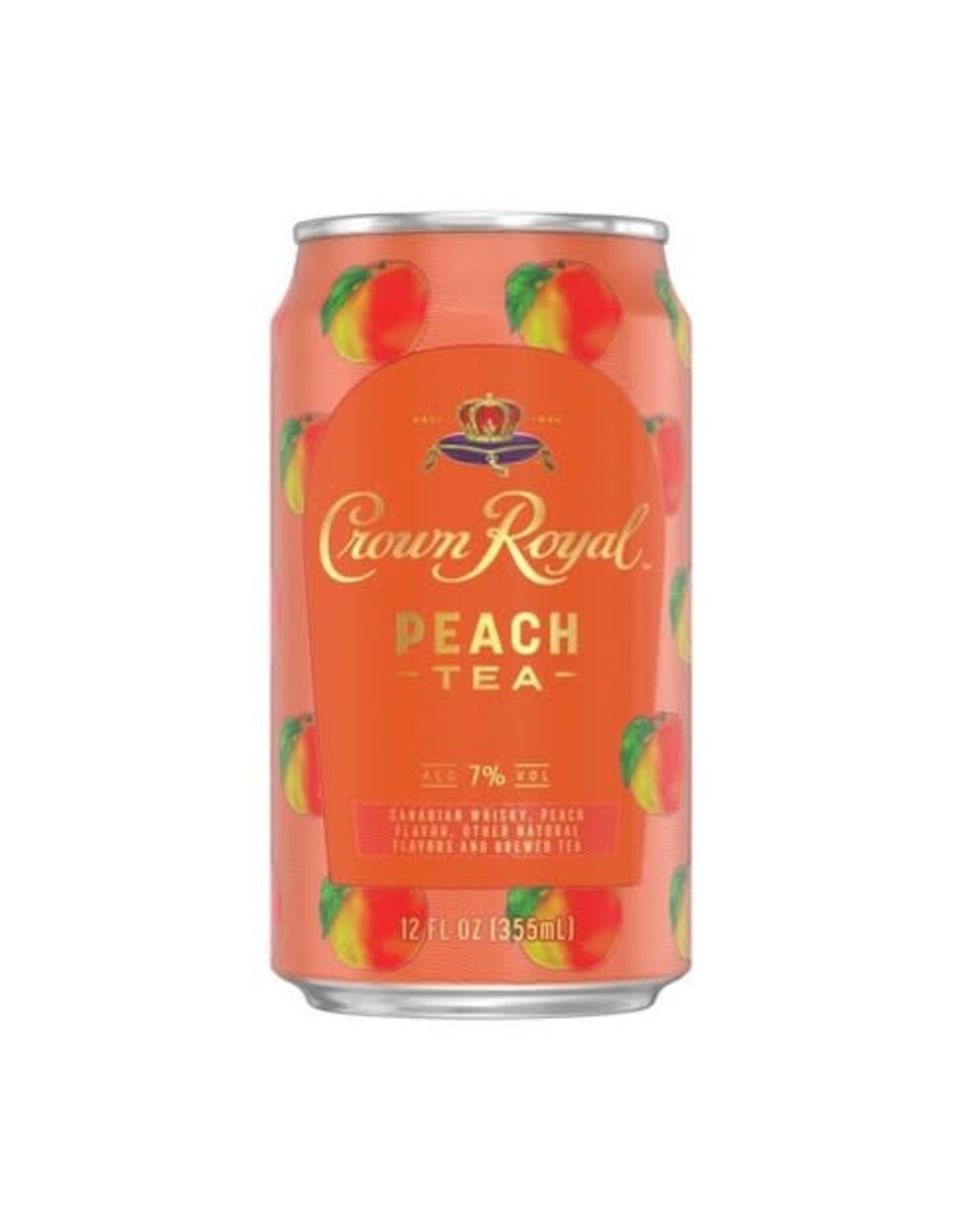 Crown Royal Peach Tea single