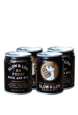 Hochstadter's Slow & Low Rock and Rye 100 ml can 4 pack