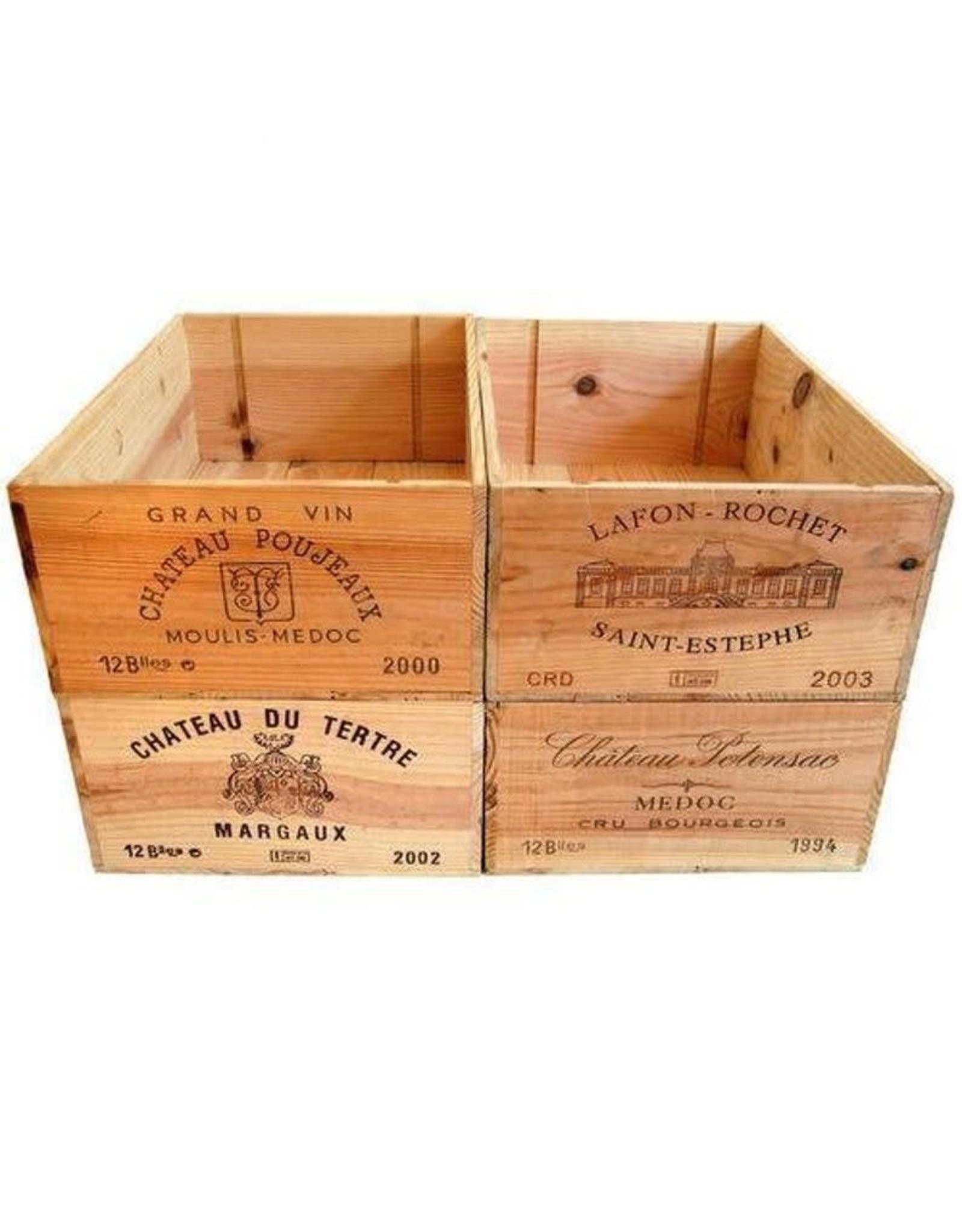 Wood Wine Crate/Box