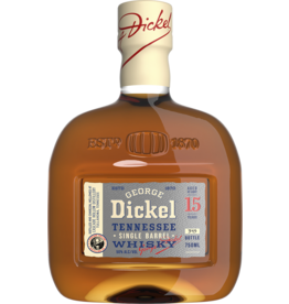 George Dickel 15 yr Single Barrel