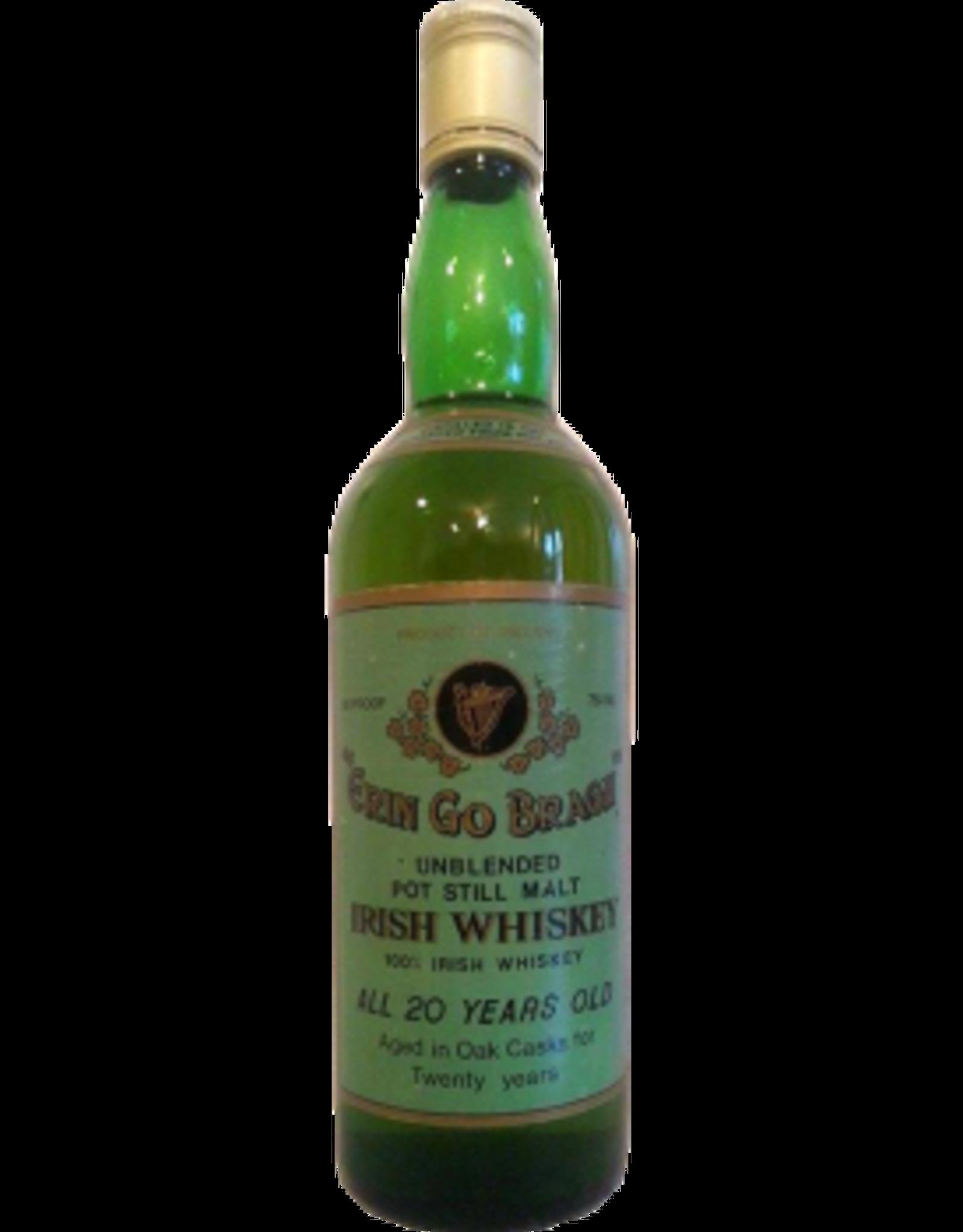 Erin Go Bragh Unblended Pot Still 20 yr (Distilled 1967, bottled 1987)