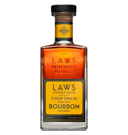 Laws Whiskey House Four Grain Straight Bourbon