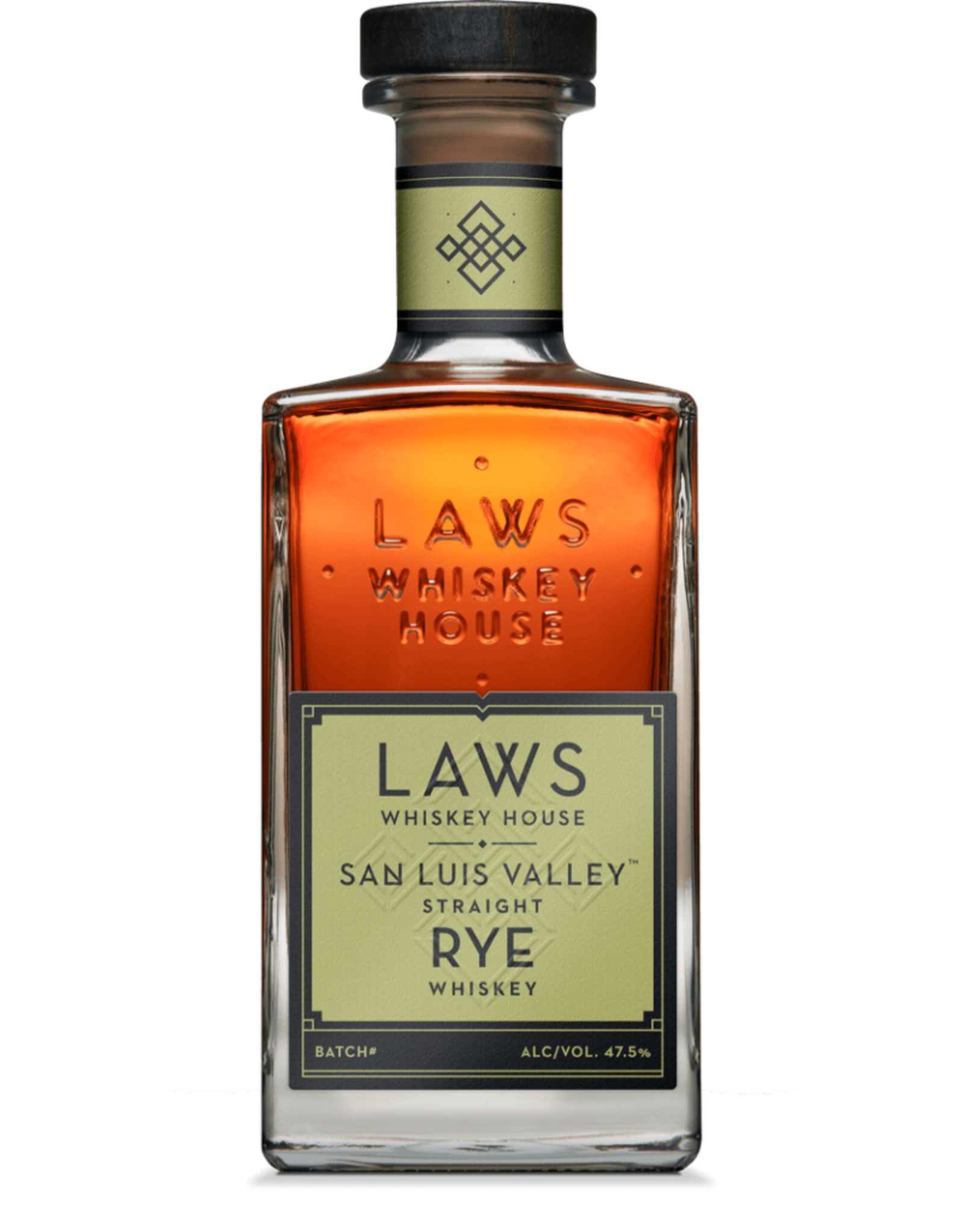 Laws Whiskey House San Luis Valley Straight Rye