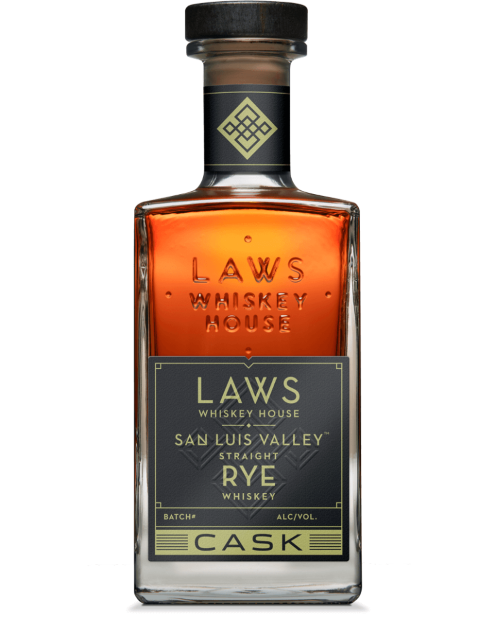 Laws Whiskey House Cask Strength San Luis Valley Rye