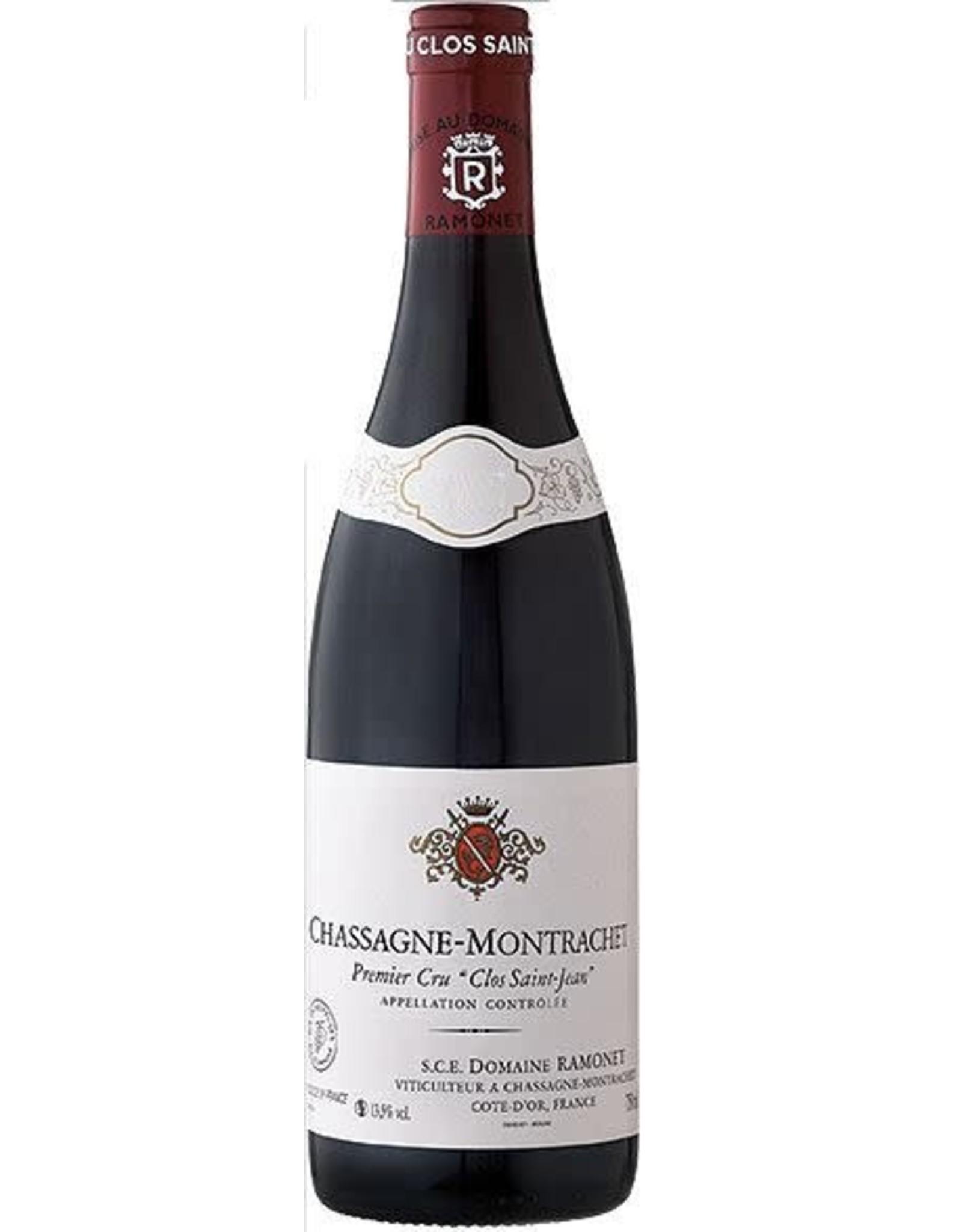 """Ramonet Chassagne-Montrachet """"Clos Saint-Jean"""" Rouge 2017"""