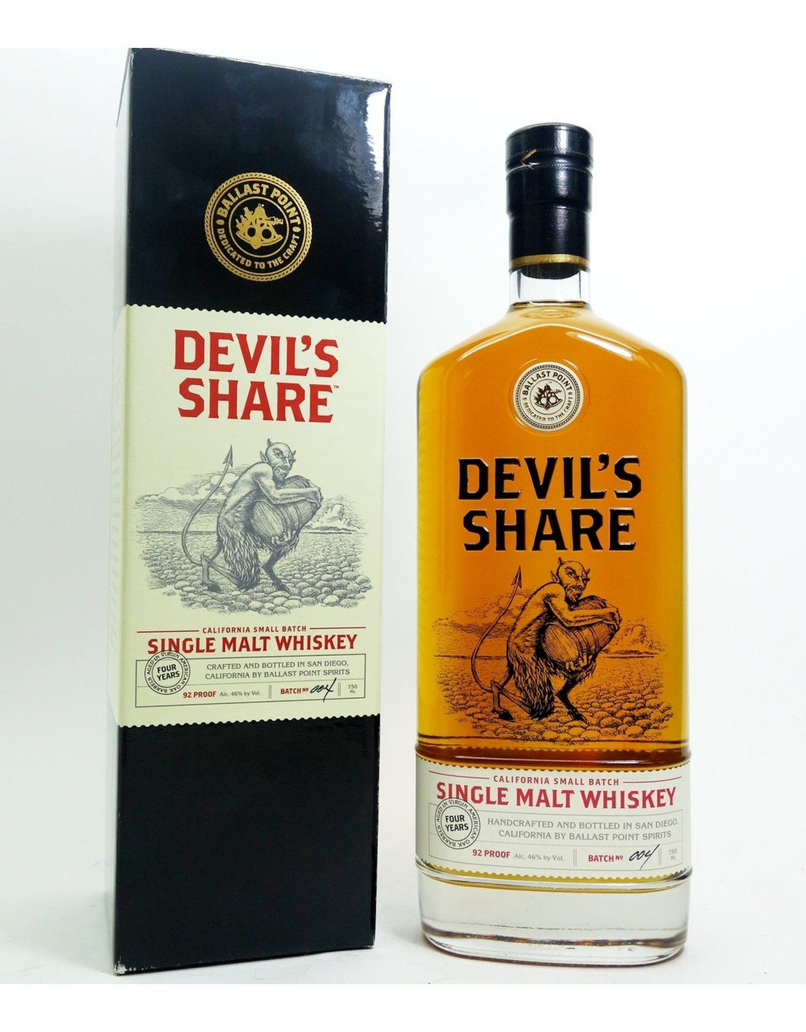 Devil's Share Small Batch American Whiskey